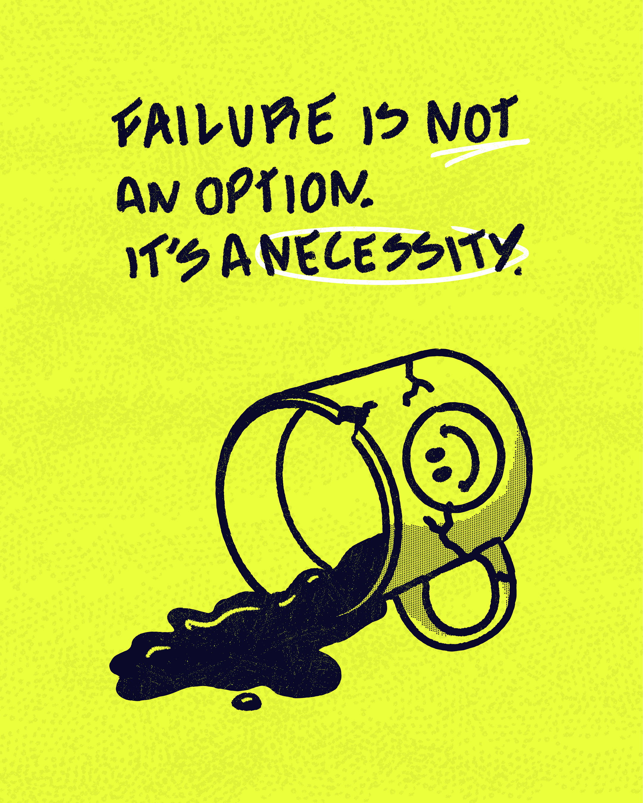 Rafaella Vanni: Rule No. 04 ? Failure is not an option. It's a necessity.