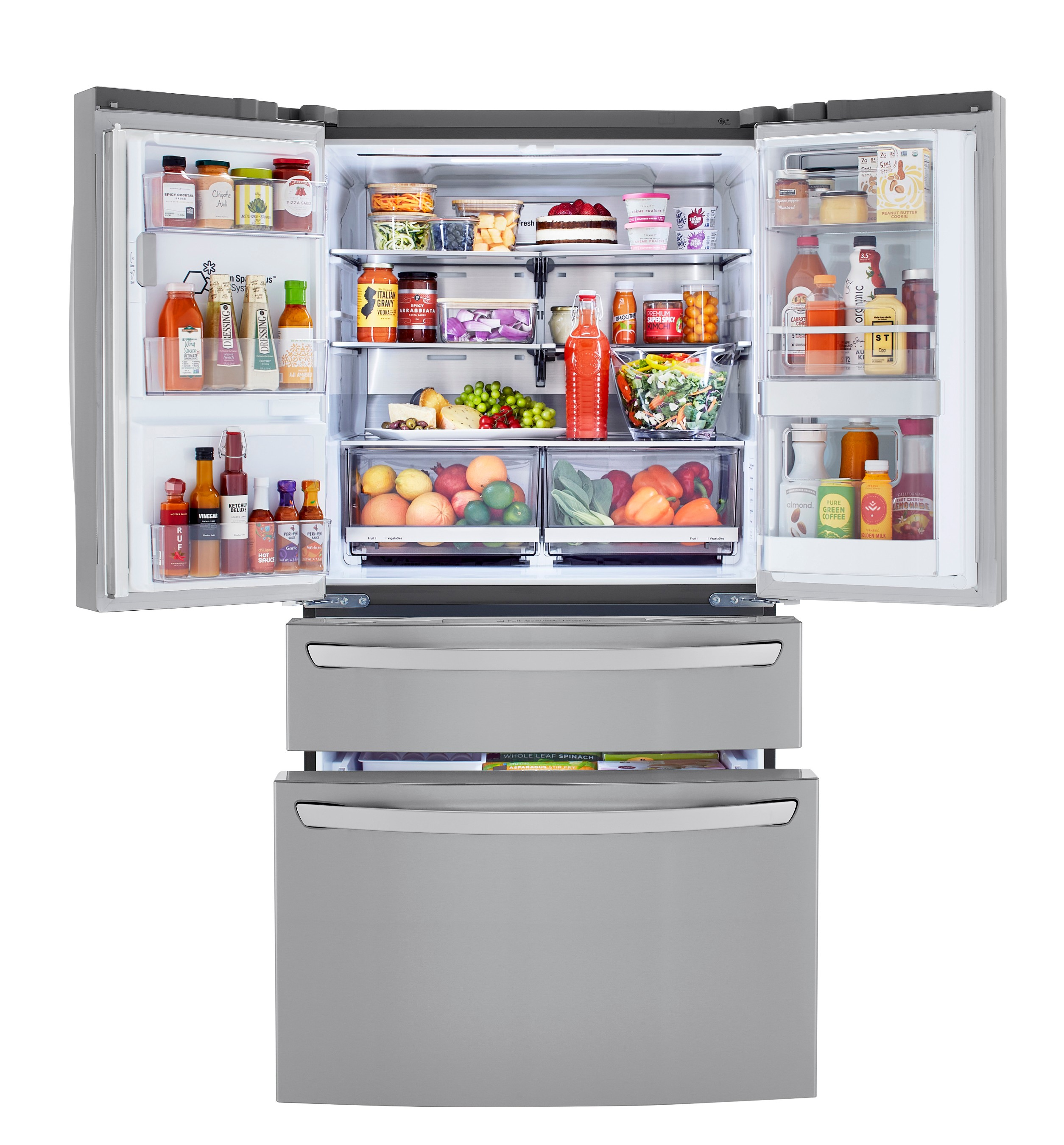 Consumers can choose from new featured-packed models with a versatile Full-Convert™ drawer that switches among five custom fridge to freezer temperatures.