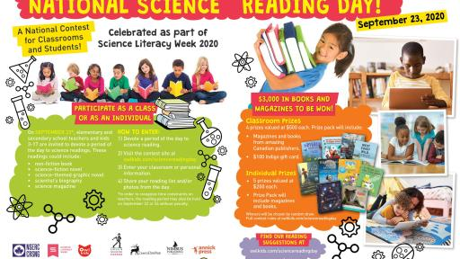 National Science Reading Day Contest Overview