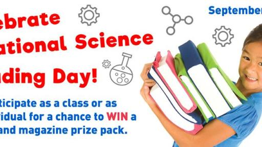 National Science Reading Day Banner