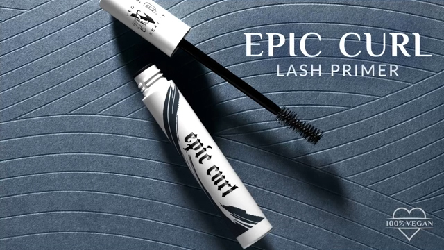 Throw your eyelash curler away! KVD Vegan Beauty Introduces NEW Epic Curl Vegan Lash Primer