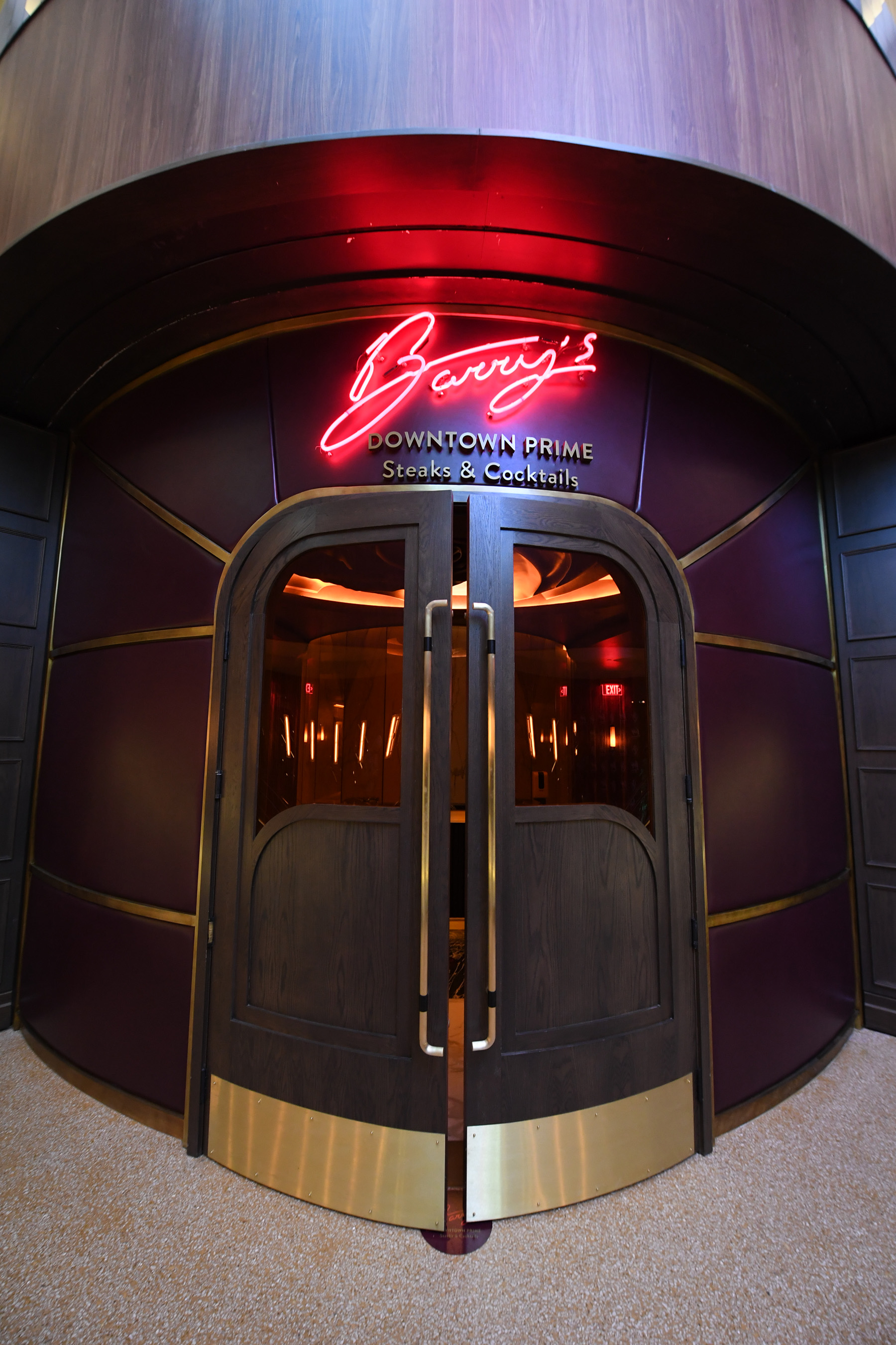 Glitz, glam and throwback vibes define Circa's steakhouse - Barry's Downtown Prime - from Vegas' own Chef Barry S. Dakake and his team at Make It Happen Hospitality.