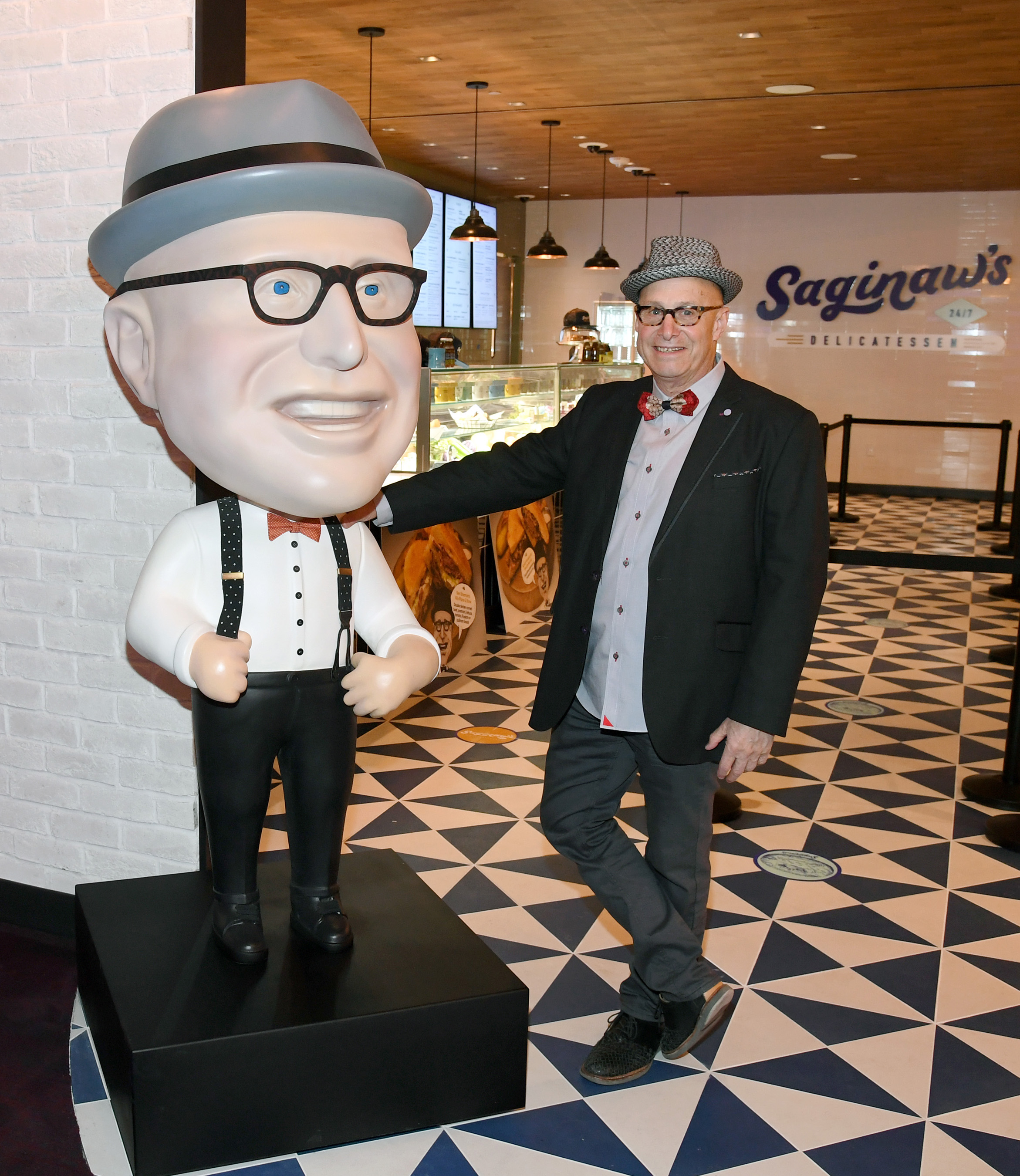 Legendary Michigan restaurateur Paul Saginaw has opened his first concept outside of Detroit with Saginaw's Delicatessen in Circa Resort & Casino.