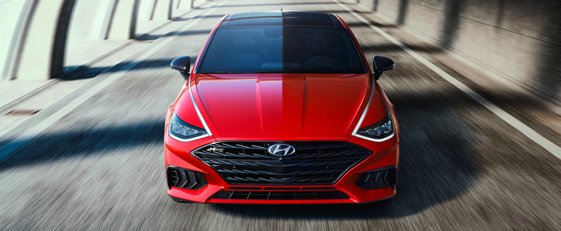 Red 2021 Sonata N Line: Hyundai's Hot New Sedan Gets a  High-Performance Look