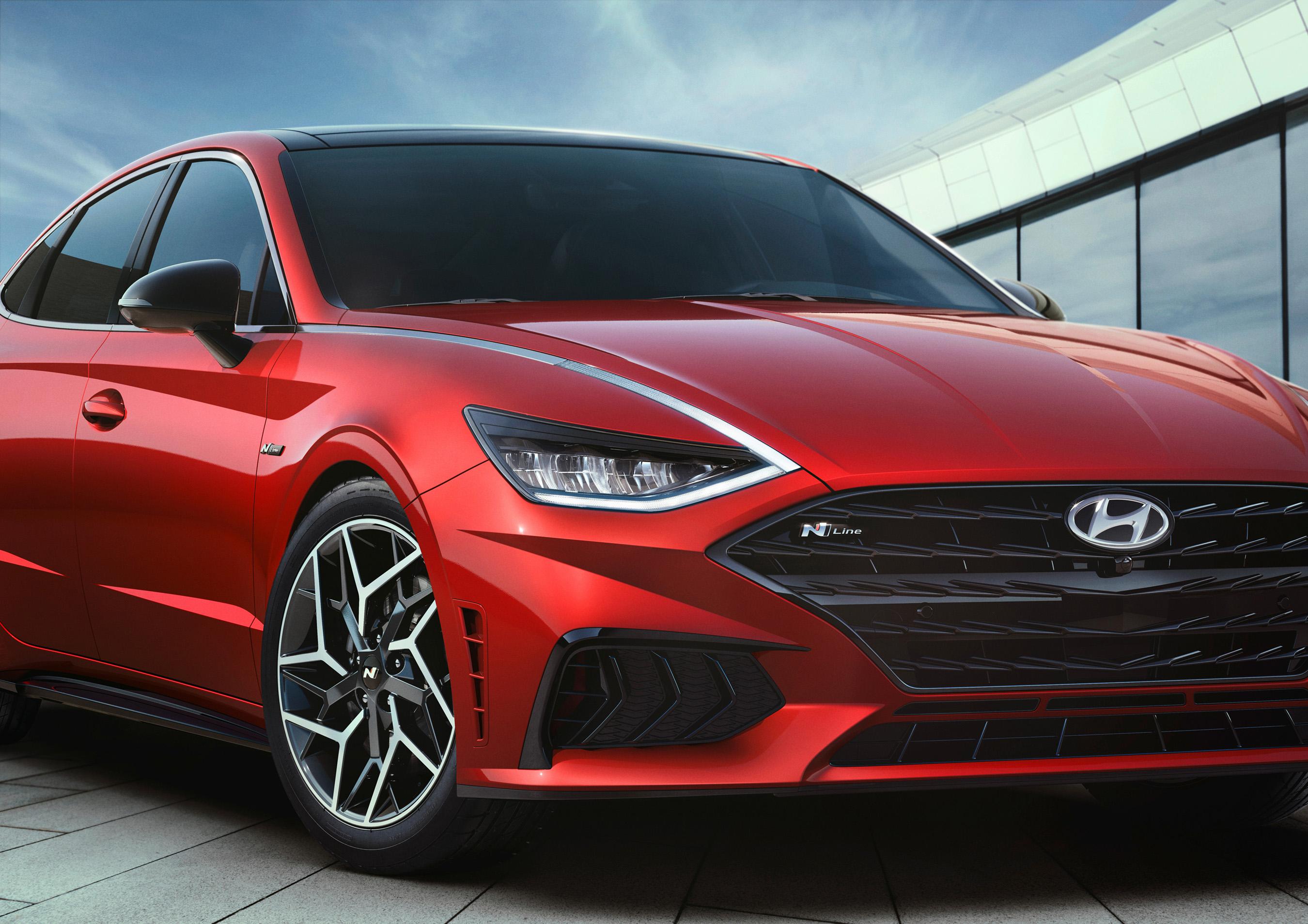 Hyundai's Sonata N Line Gets a High-Performance Look