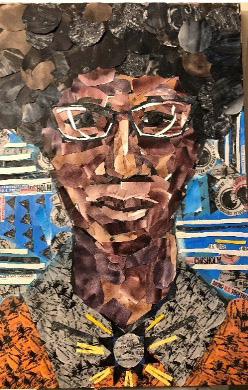 Additional portraits include the indomitable Shirley Anita Chisholm, the first African American woman elected to the United States Congress, by Chanel Compton. Photo Credit: Mike Schwartz Photography