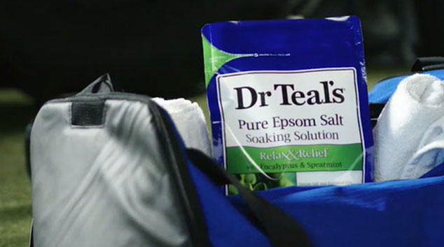 Dr Teals teams up with All Pro football superstars: Aaron Donald, Derrick Henry and George Kittle to share the benefits of making time for muscle recovery with Dr Teal's Epsom Salt Soaks.
