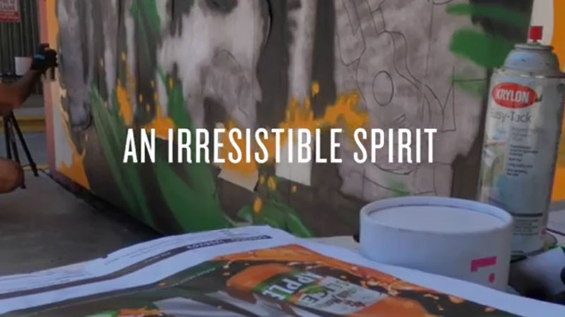 Captain Morgan and Brandy Swope Unveil New Mural in Miami to Celebrate Community and the Launch of Captain Morgan Sliced Apple