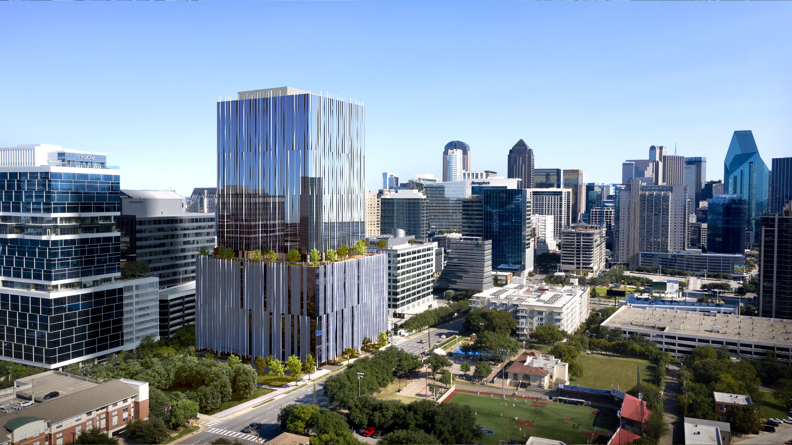 Harwood No. 14's ideal location makes it one of the most accessible buildings in Dallas