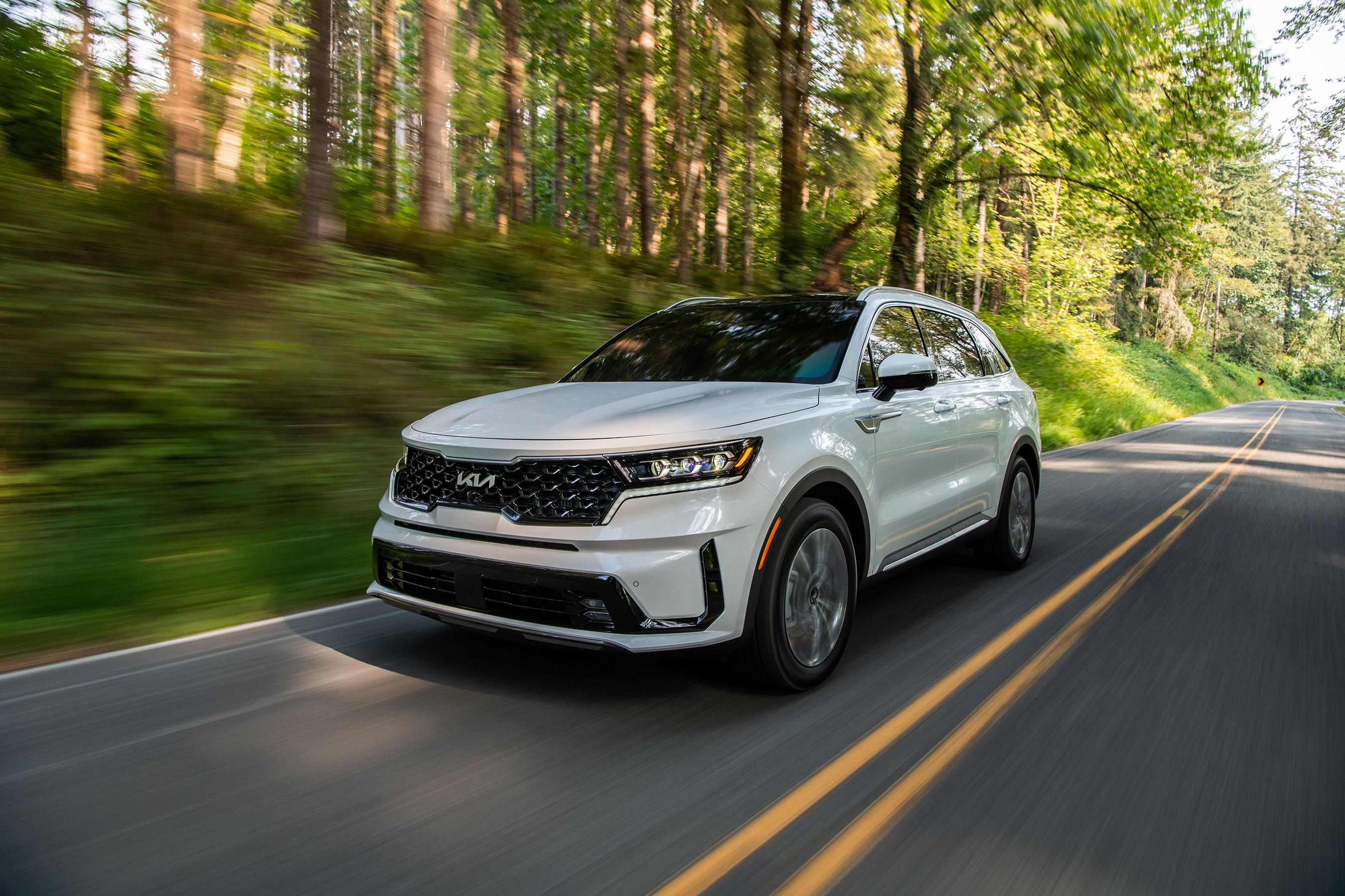 New 2022 Kia Sorento PHEV joins popular SUV model range.