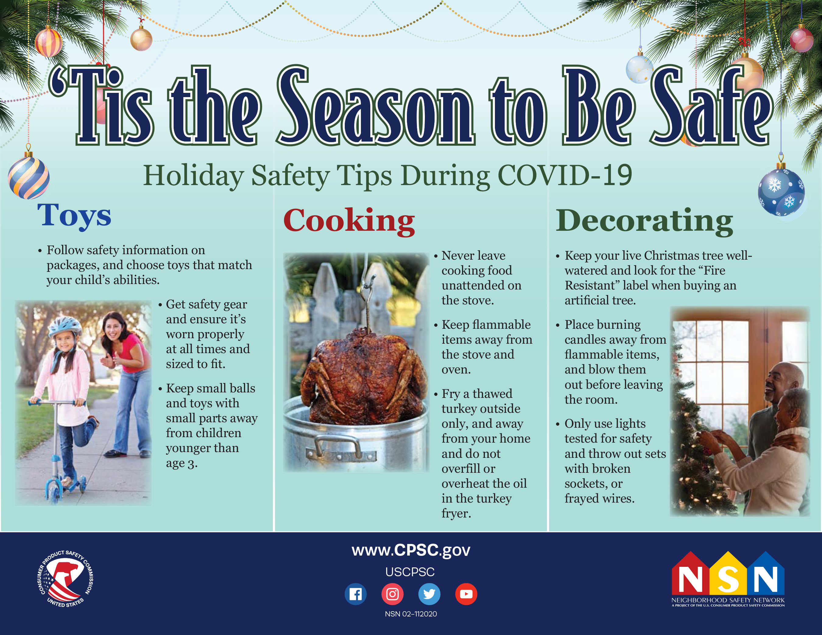 ´Tis the Season to Be Safe: Top Tips for Your Family During COVID-19