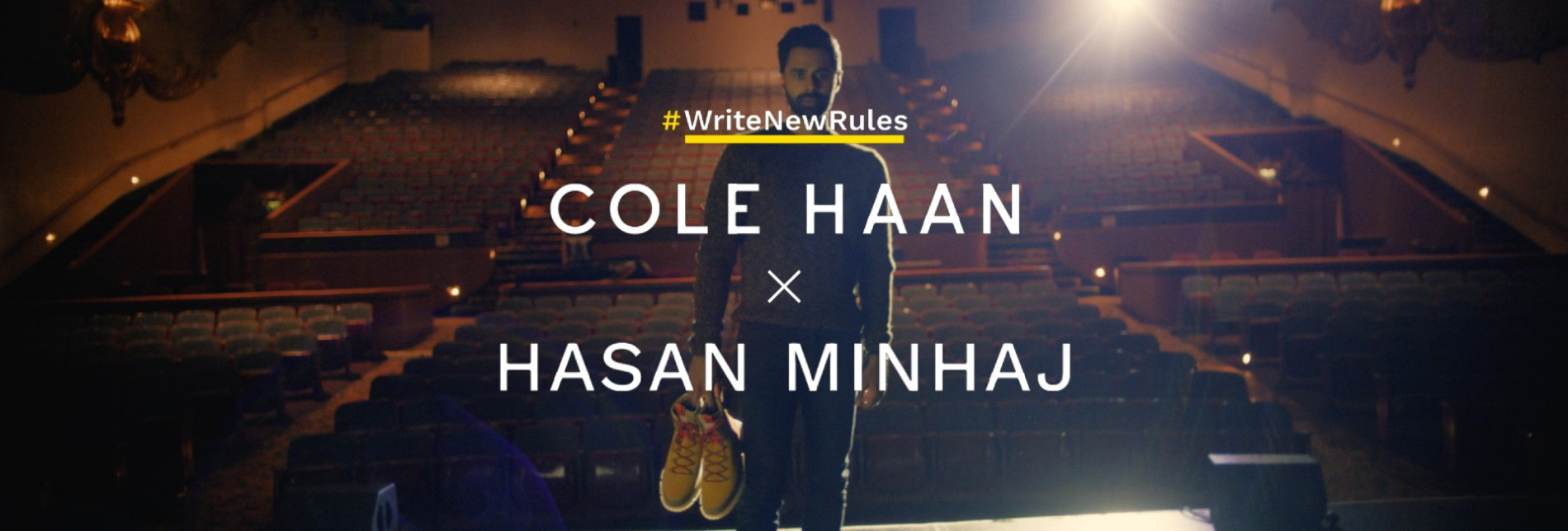 Cole Haan Announces Collaboration with Hasan Minhaj