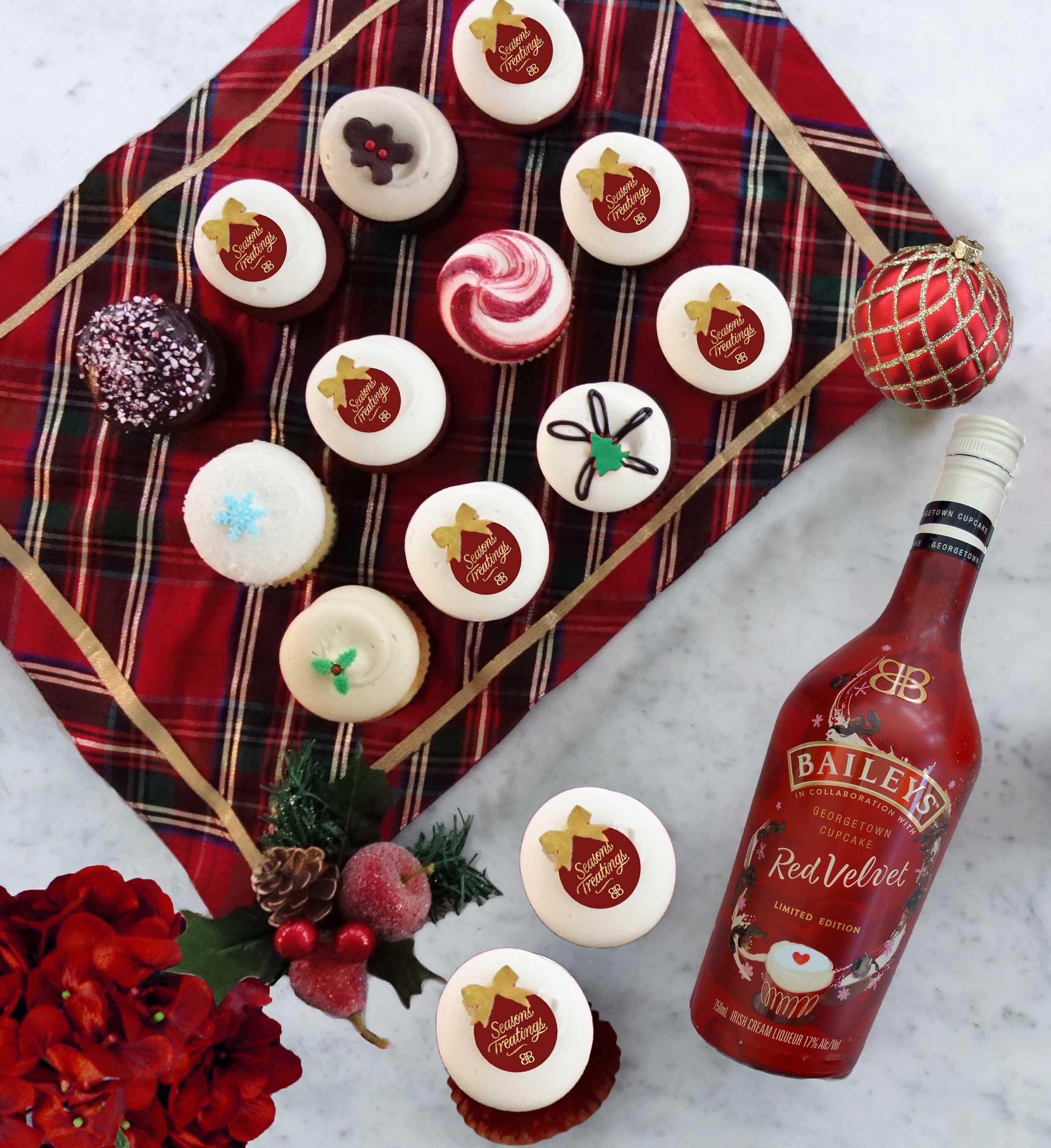 Georgetown Cupcake's Baileys Red Velvet Cupcakes