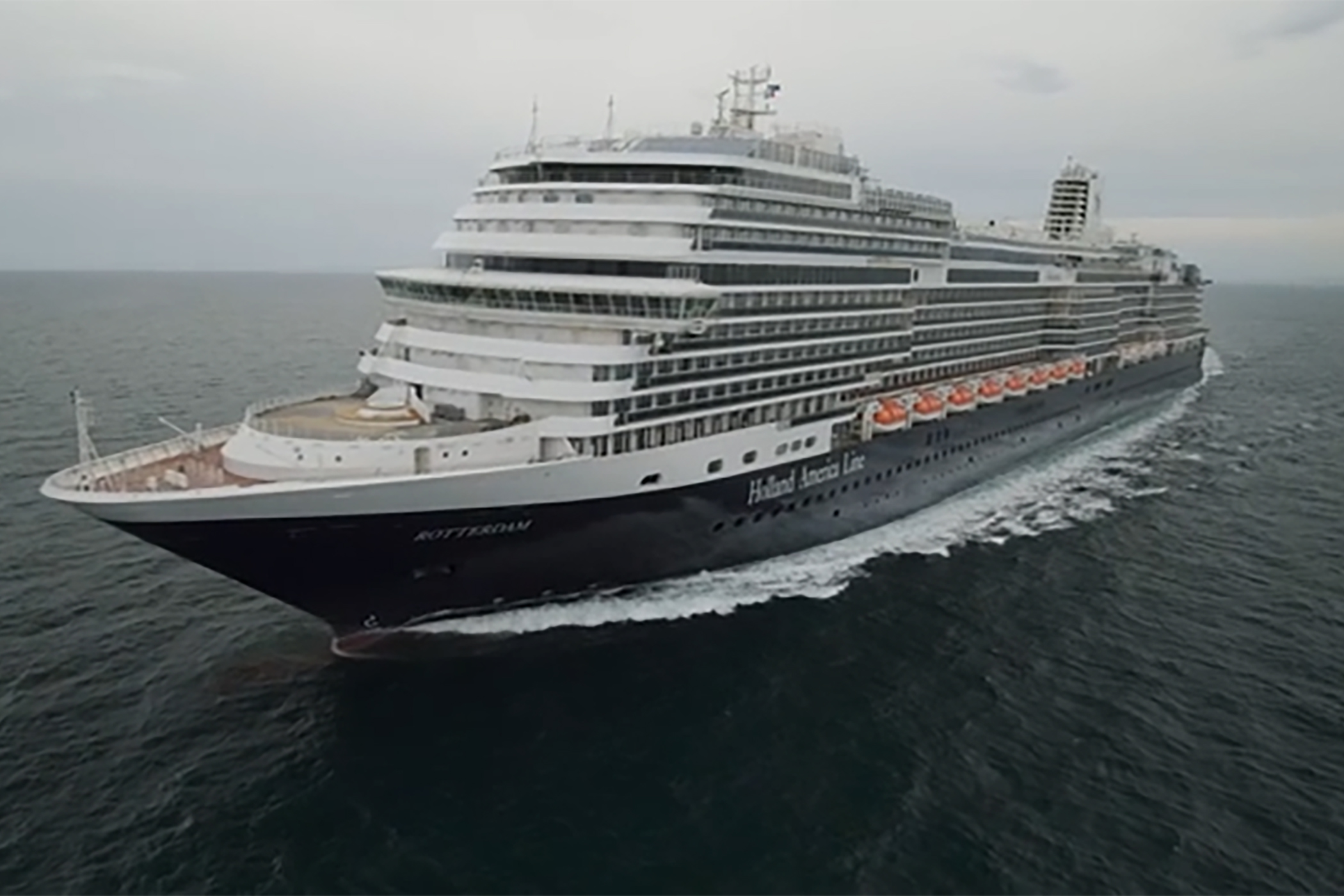 Holland America Line's Rotterdam Sets Sail with World-Class Floating Art Gallery Valued at Over $4.1 Million