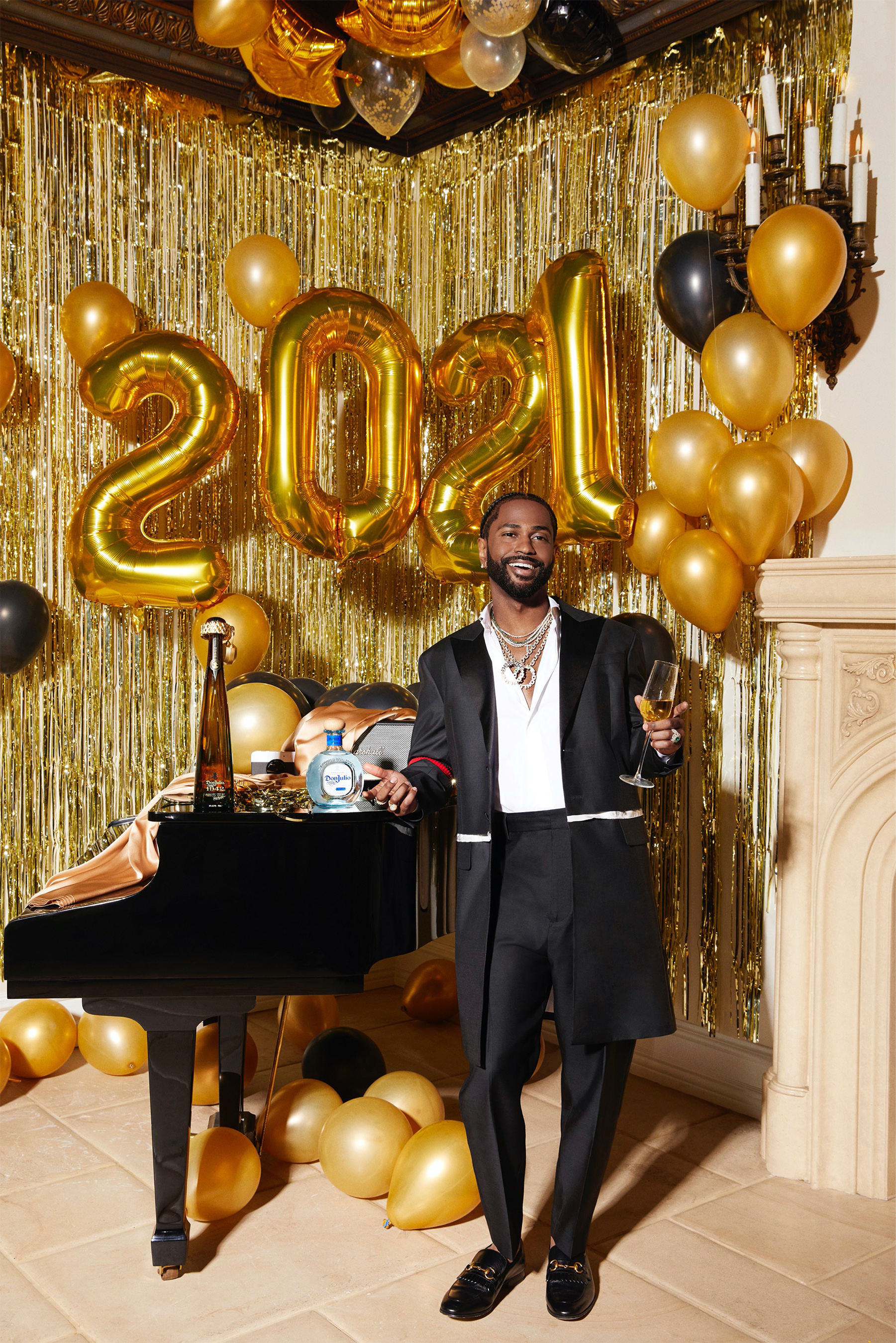 Big Sean is celebrating New Year's Eve with Tequila Don Julio to show everyone what it means to live the Don Life to ring in 2021.