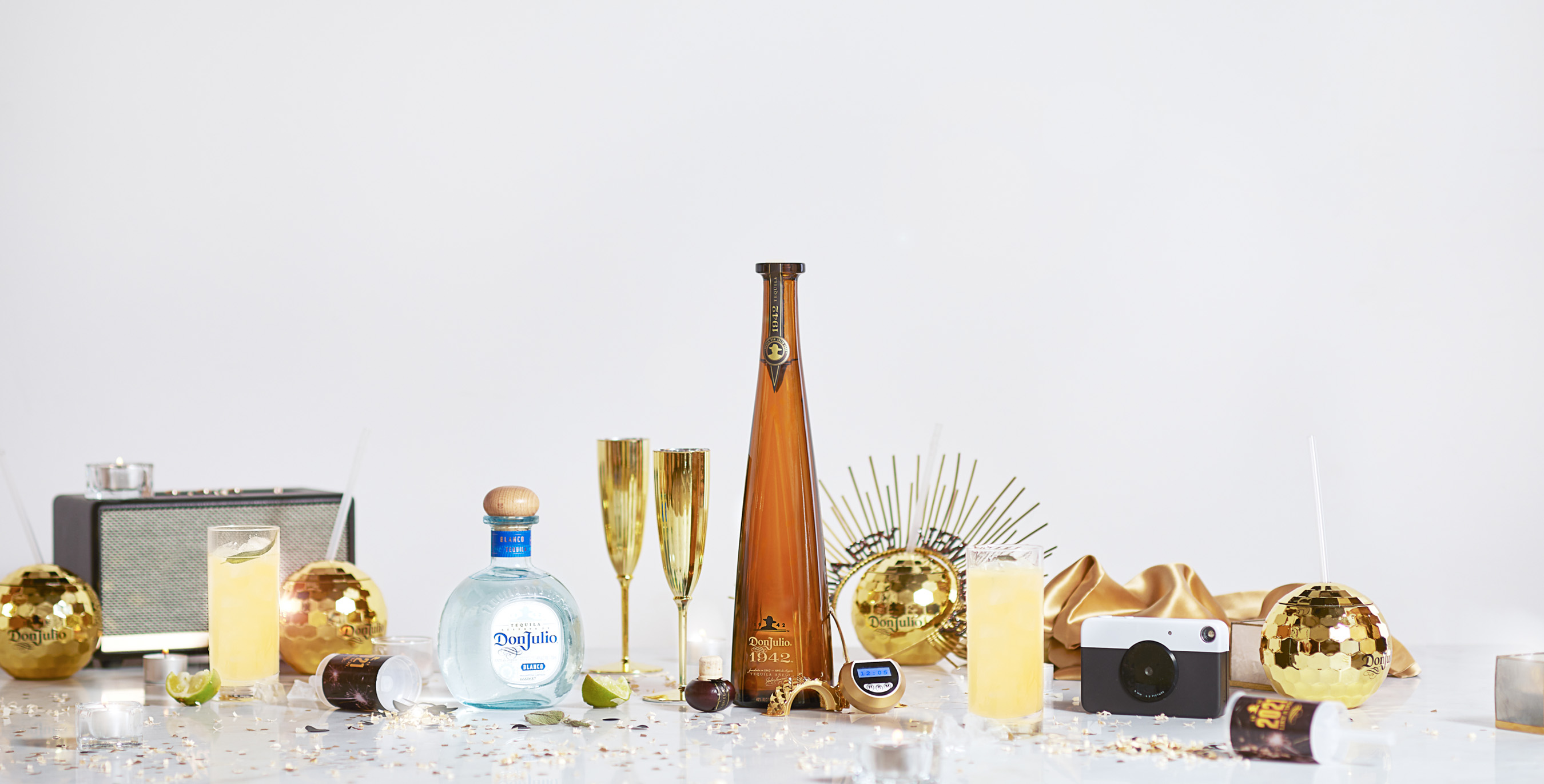 So long 2020, Tequila Don Julio invites you to Ring in 2021 Like a Don this New Year's Eve no matter how to choose to celebrate.
