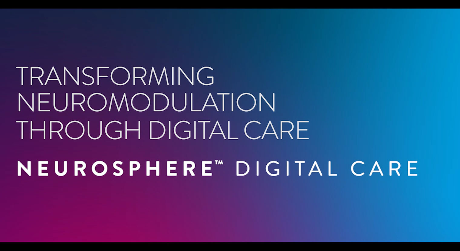 Dr. Timothy Deer Discusses NeuroSphere™ Virtual Clinic