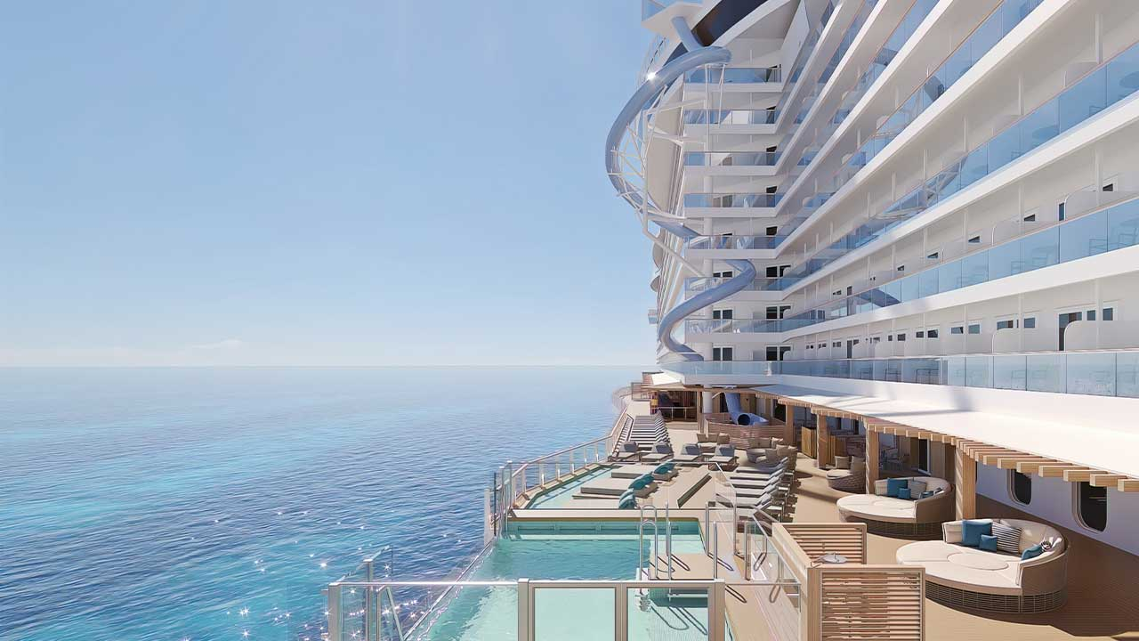 Beginning in August 2022, guests sailing aboard the new Norwegian Prima will have the opportunity to experience the world's first freefall dry slide, The Drop. The towering 10-story plunge will have guests experiencing the highest G-force of any comparable experience in the cruise industry.