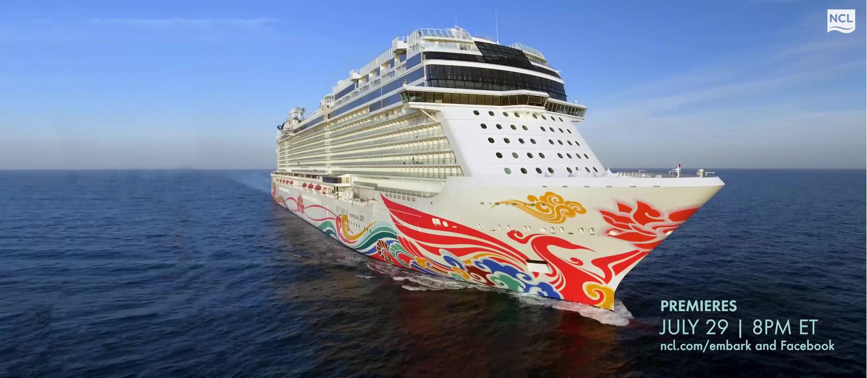 "Norwegian Cruise Line Announces Next Episode Of ""EMBARK - The Series"""