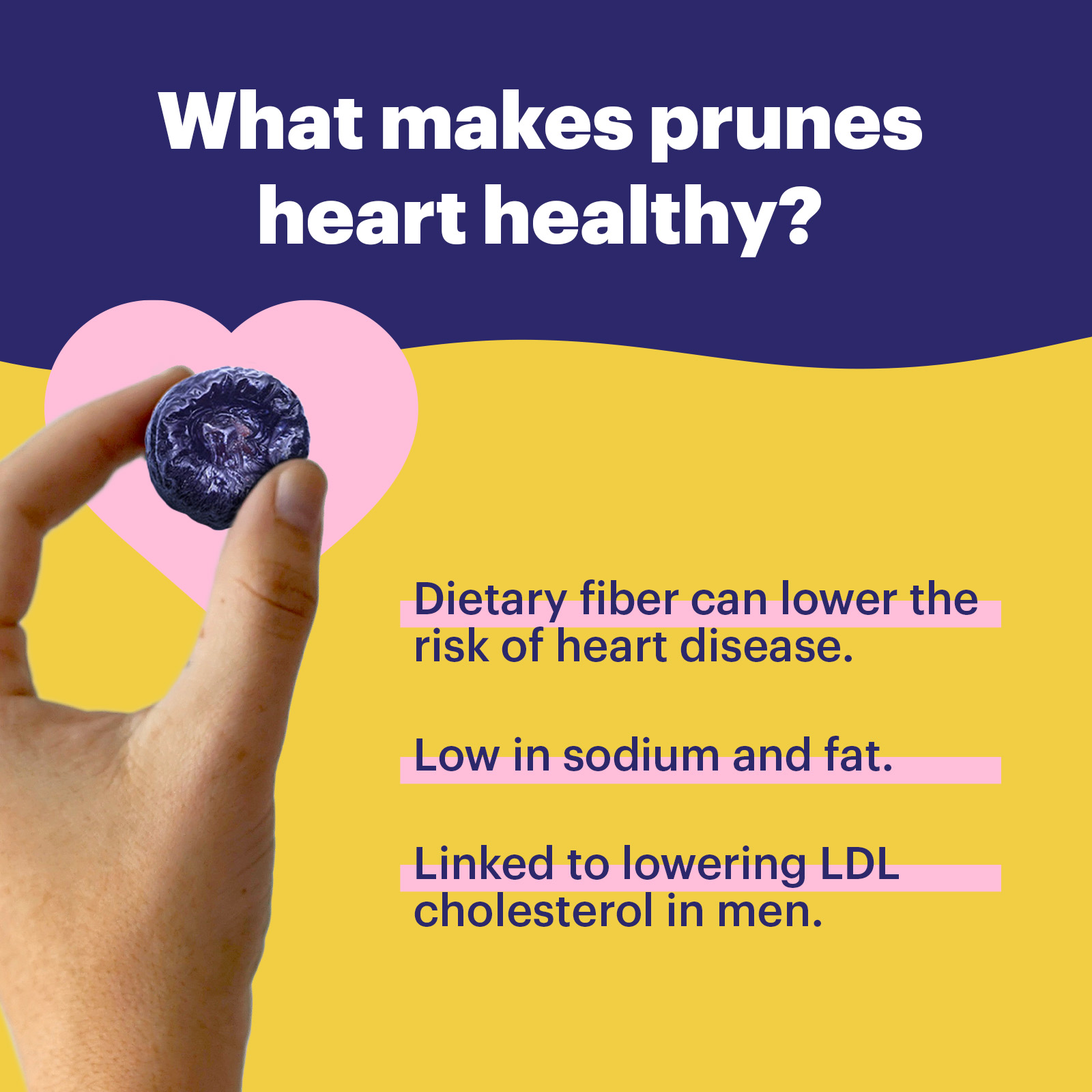 What Makes Prunes Heart Healthy