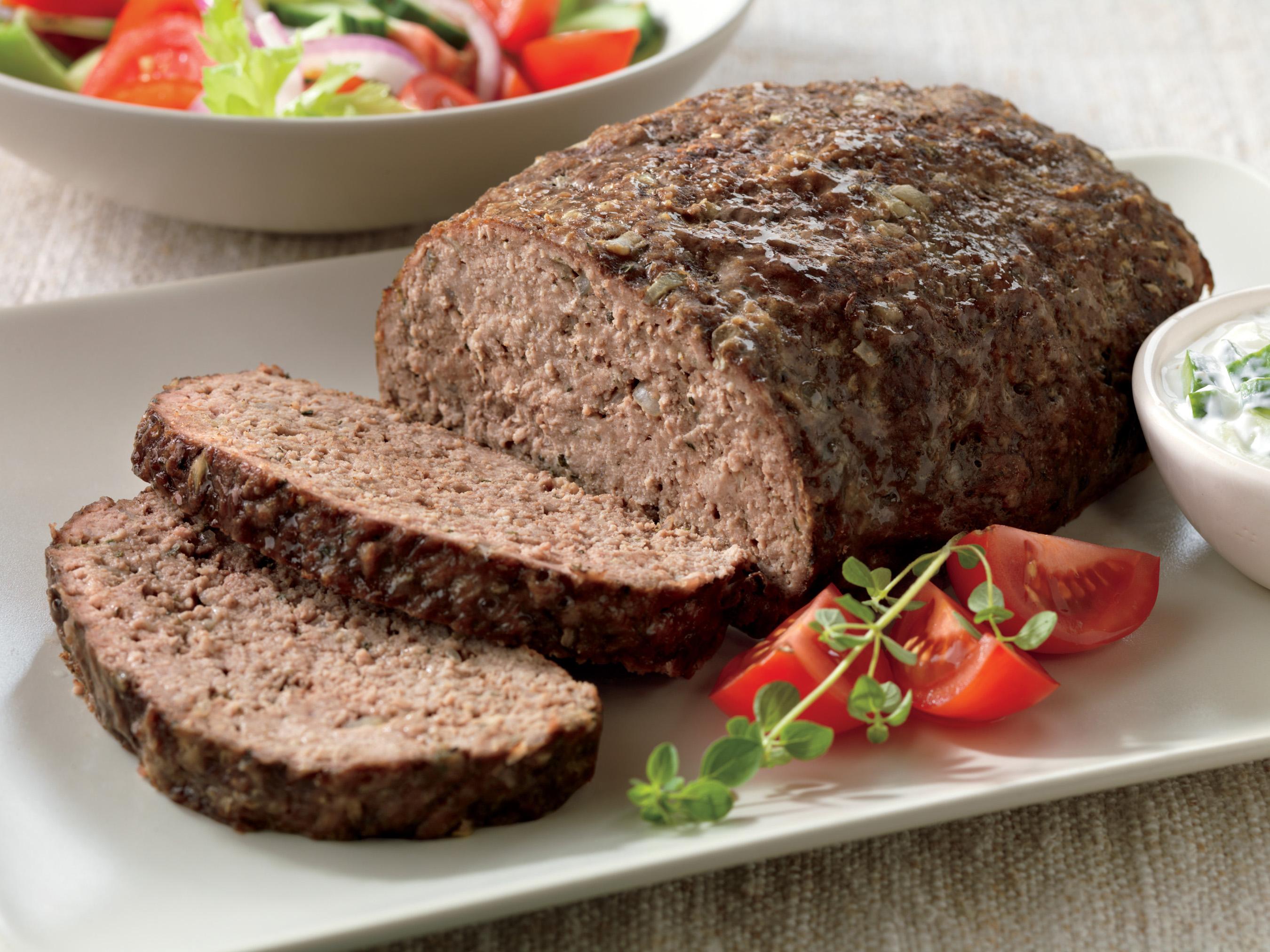 Athenian Beef Meatloaf