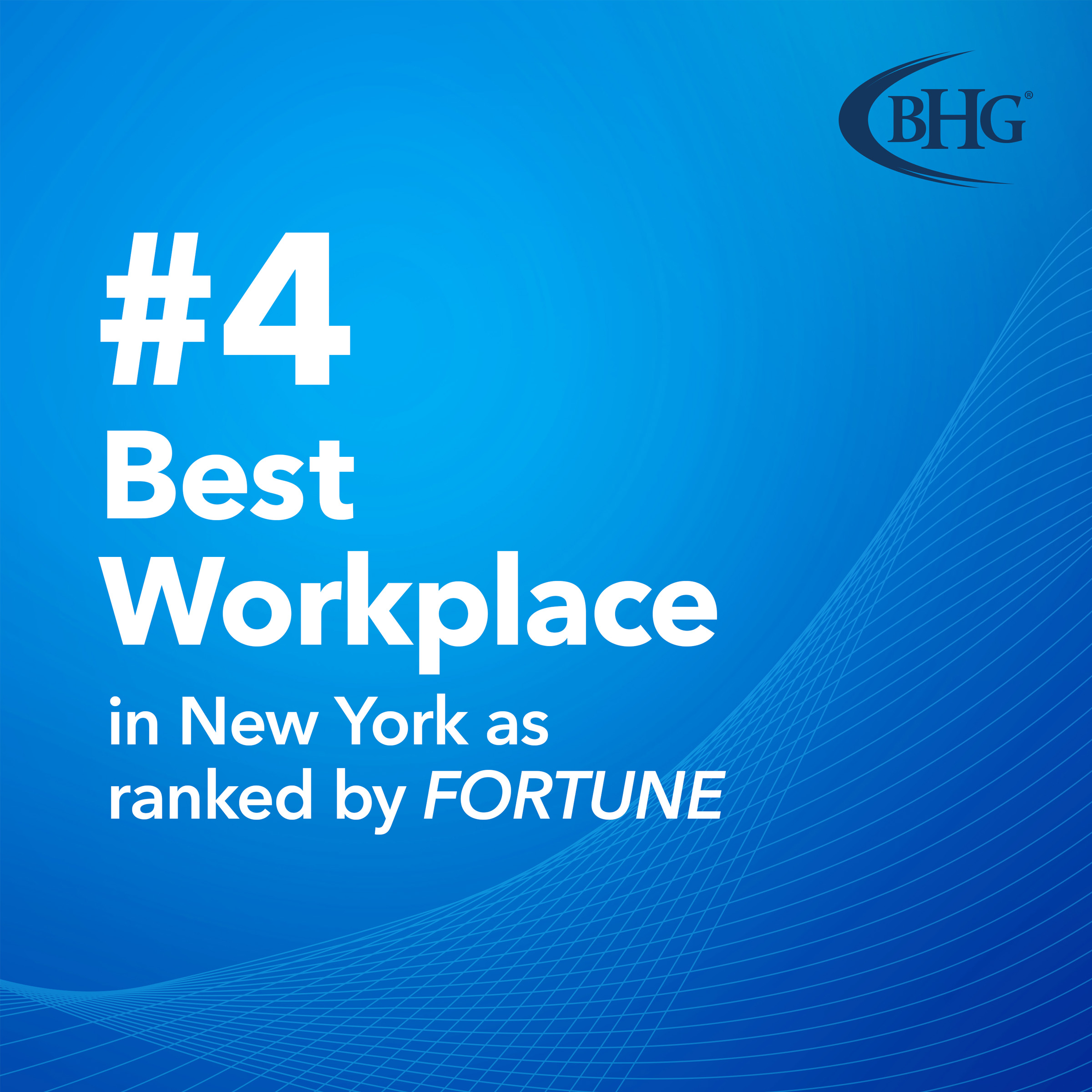BHG Maintains Top 5 Rank as One of New York's Best Places to Work®...