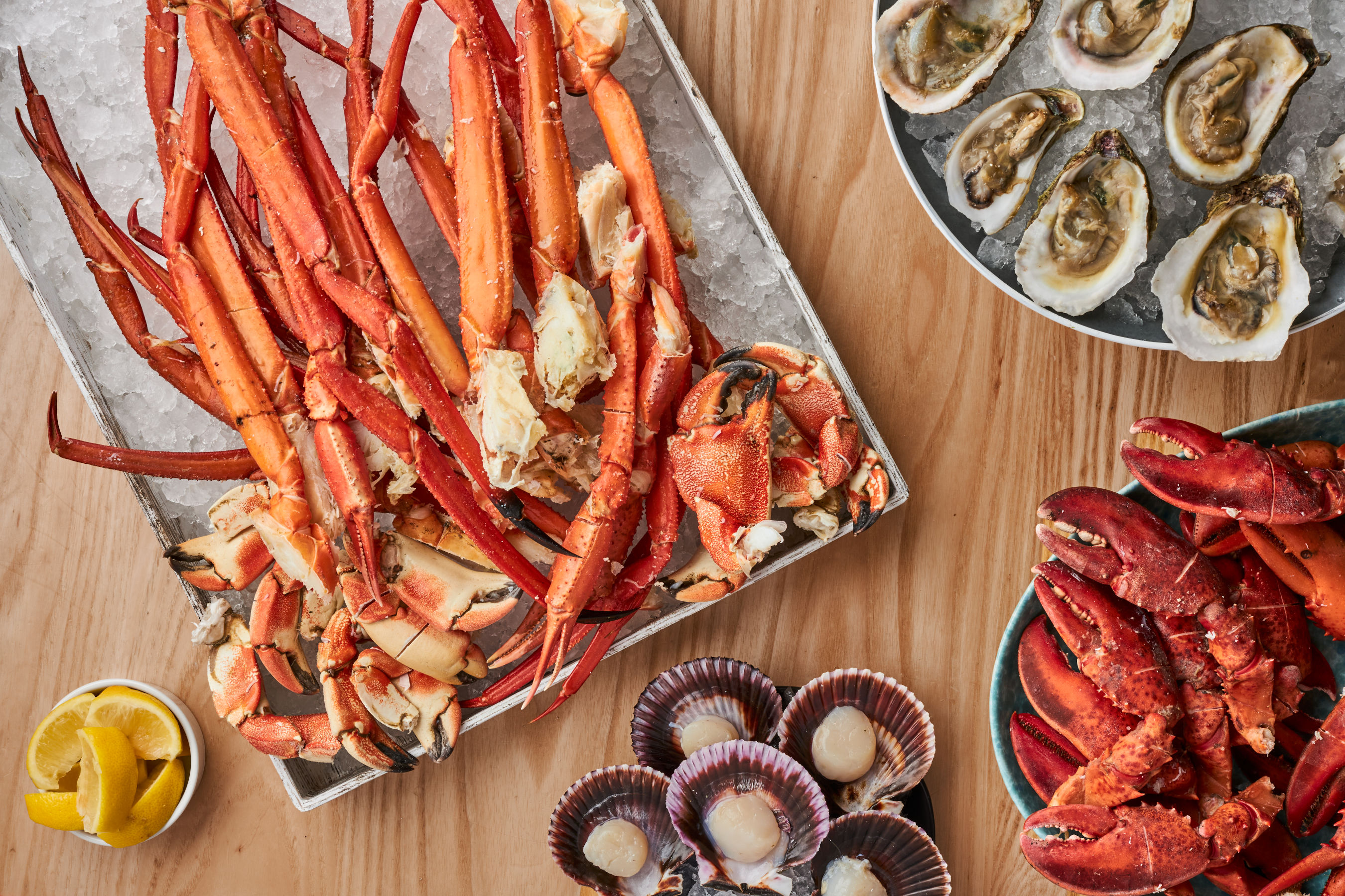 Bacchanal Buffet Seafood Dishes