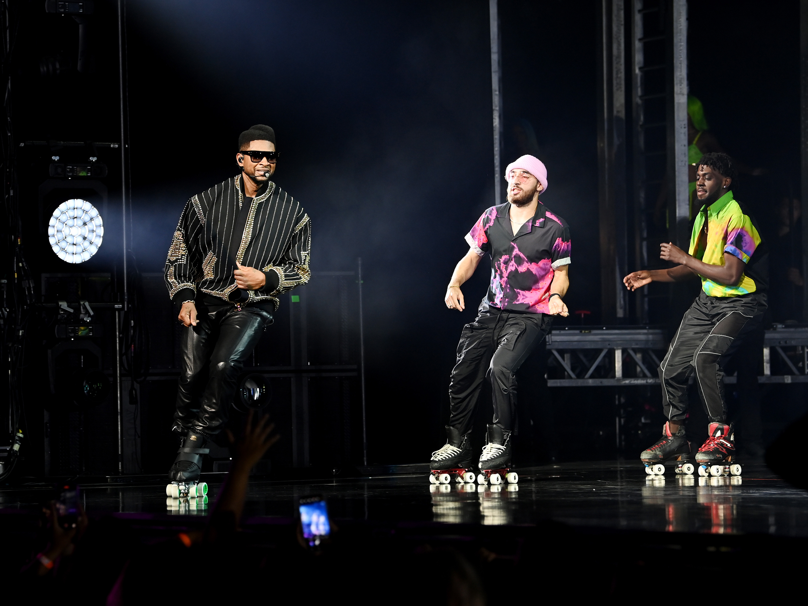 Usher opens Las Vegas residency at The Colosseum at Caesars Palace. Credit: Denise Truscello