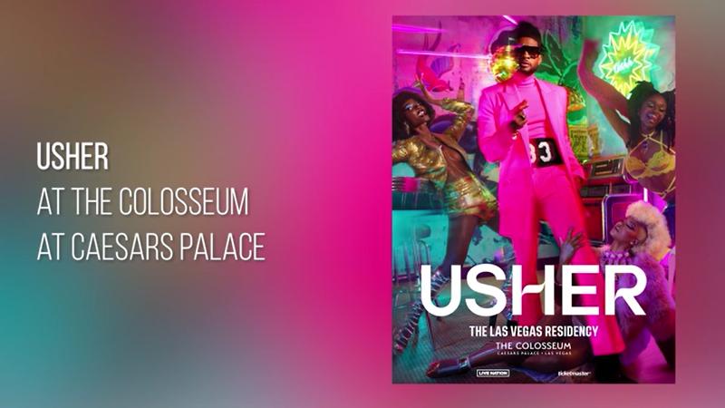 Usher Celebrates Grand Opening Of New Headlining Las Vegas...