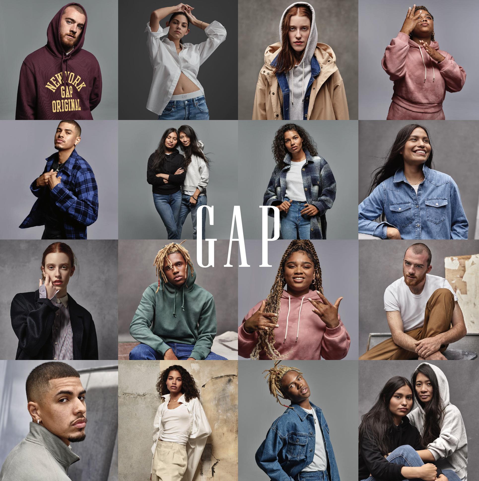 Gap'sFall 2021INDIVIDUALS adult campaign cast