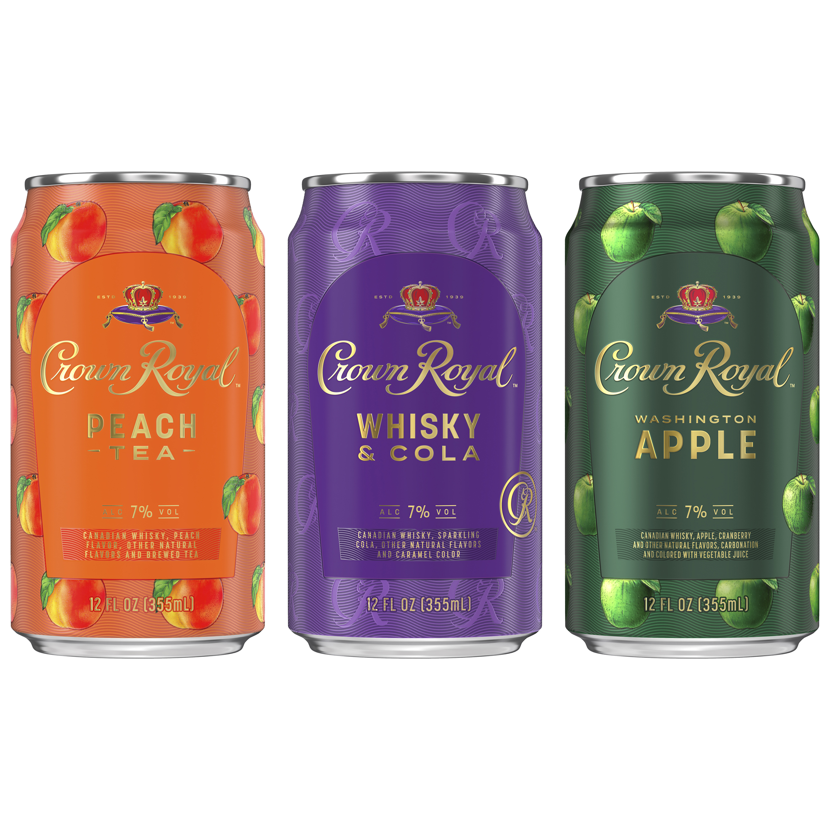 Crown Royal Launches New Ready to Drink Cocktails in a Can