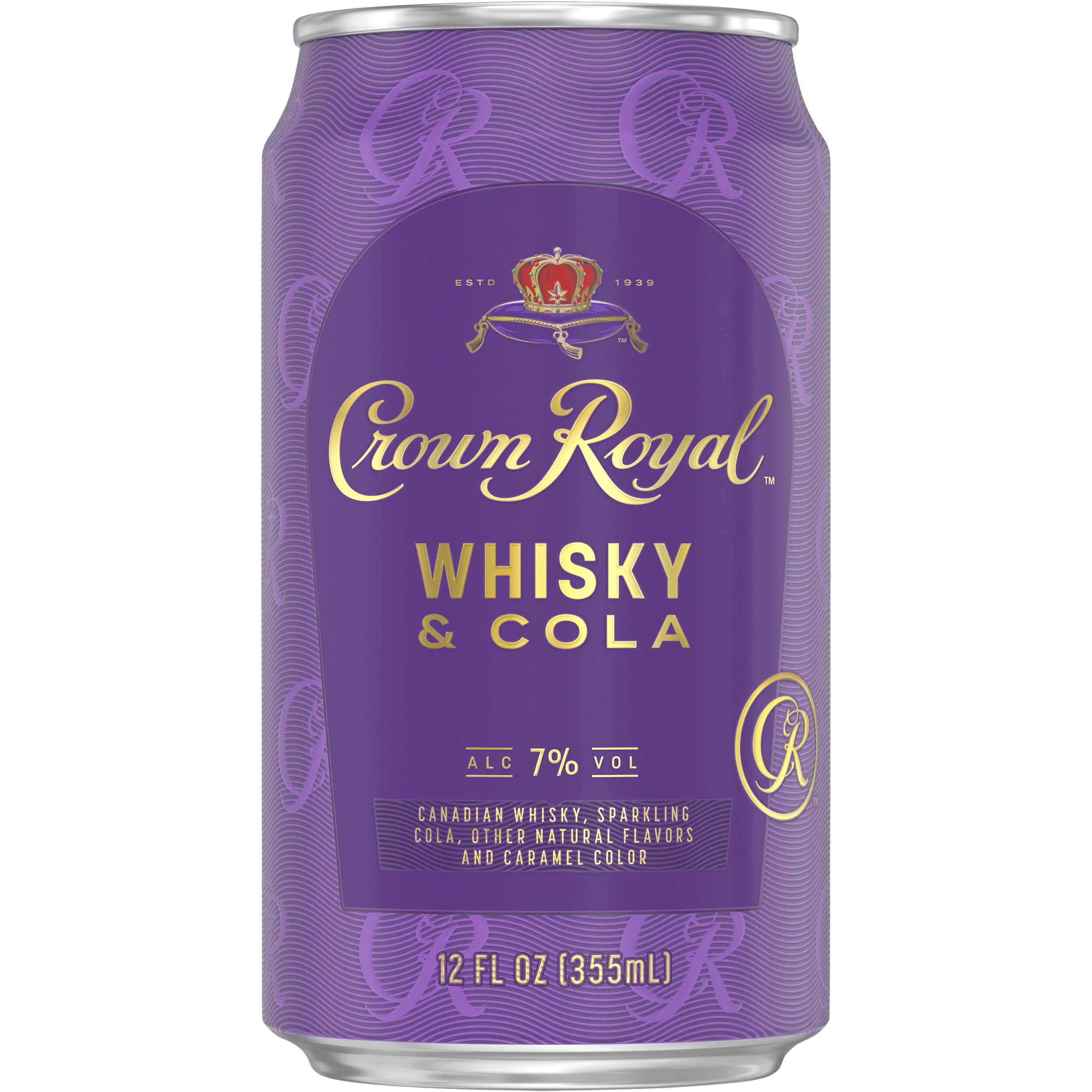 Crown Royal Whisky & Cola