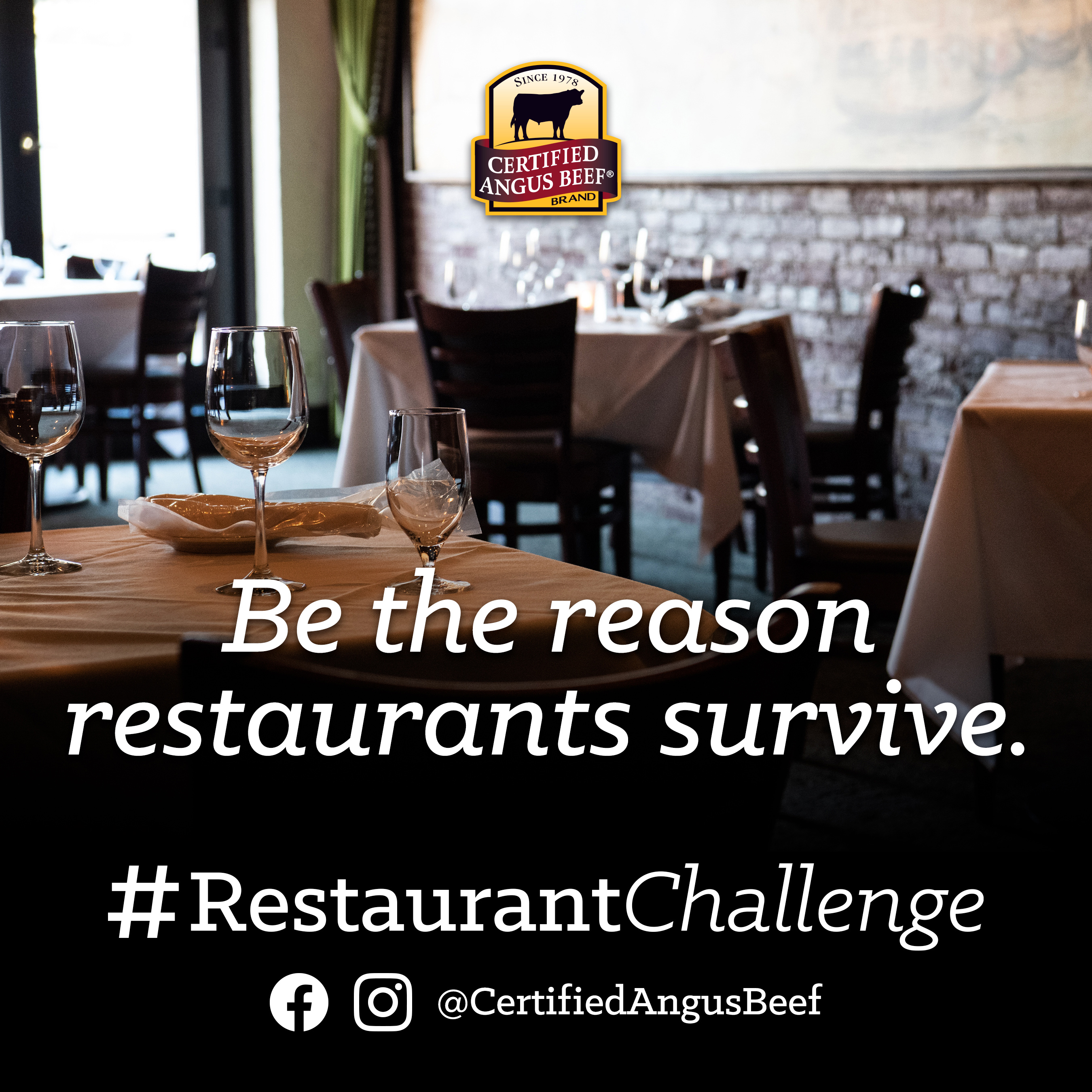 Be the reason restaurants survive