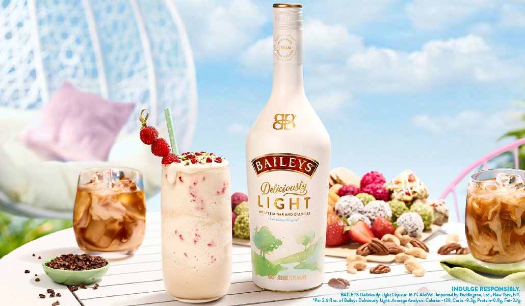 Baileys Introduces Its Lightest Indulgence Yet – Baileys Deliciously Light!