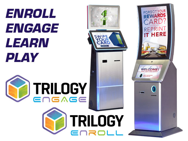 Everi's award-winning loyalty platform, Trilogy™, represents a critical bridge between its operator-centric financial technology solutions and its player-centric gaming solutions. Our enrollment and promotional kiosks, as well as the loyalty mobile app, are powered by an intuitive, state-of-the-art loyalty control panel.