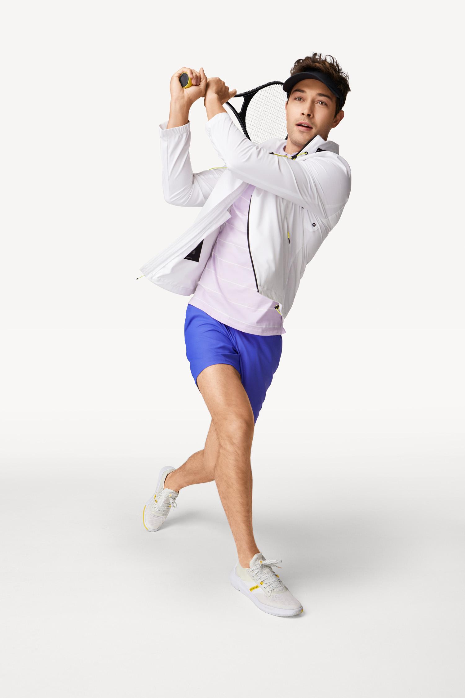 Cole Haan Men's ZERØGRAND Winner Tennis Sneaker in White, $130