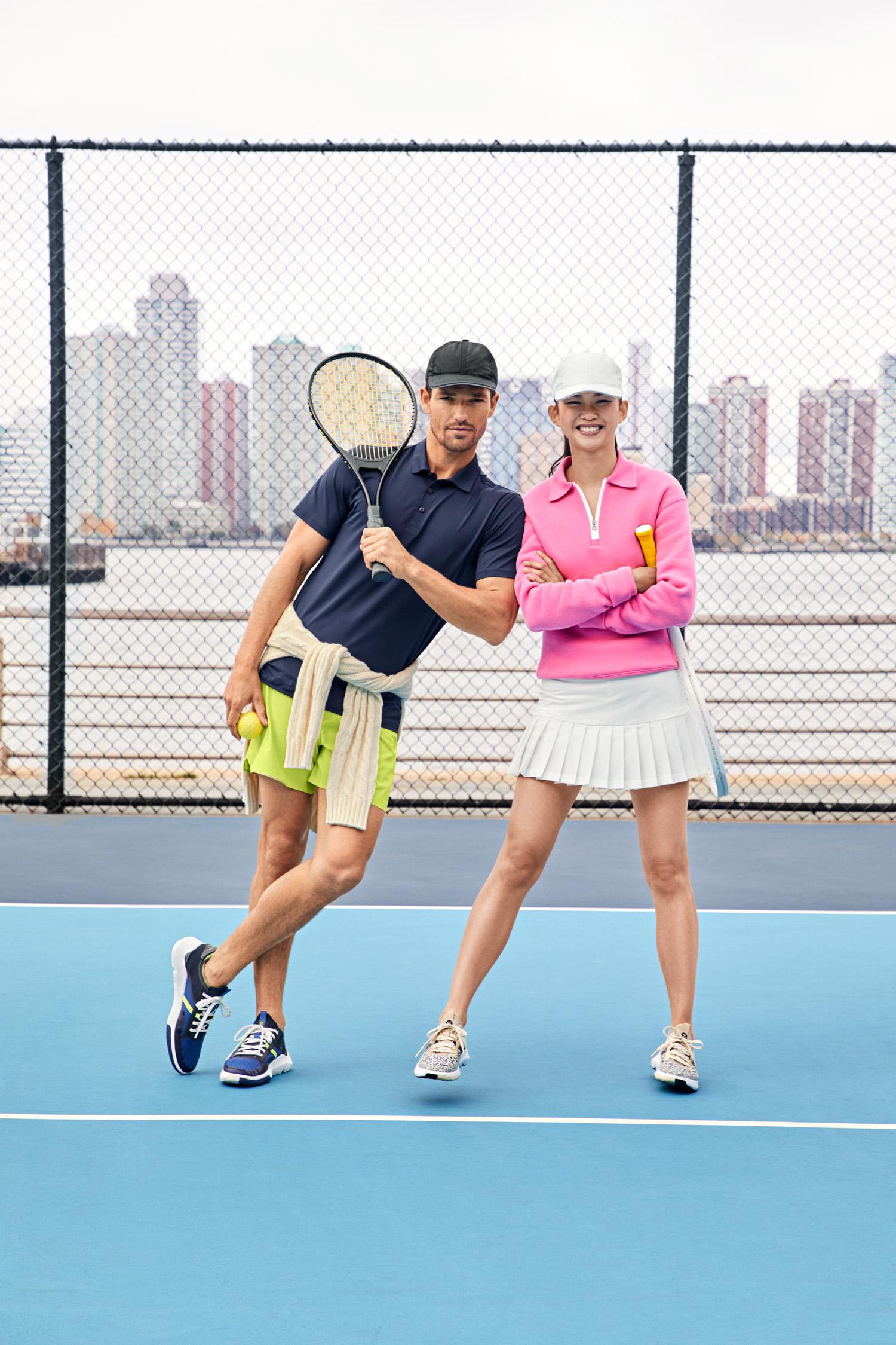 Cole Haan Men's and Women's ZERØGRAND Winner Tennis Sneakers