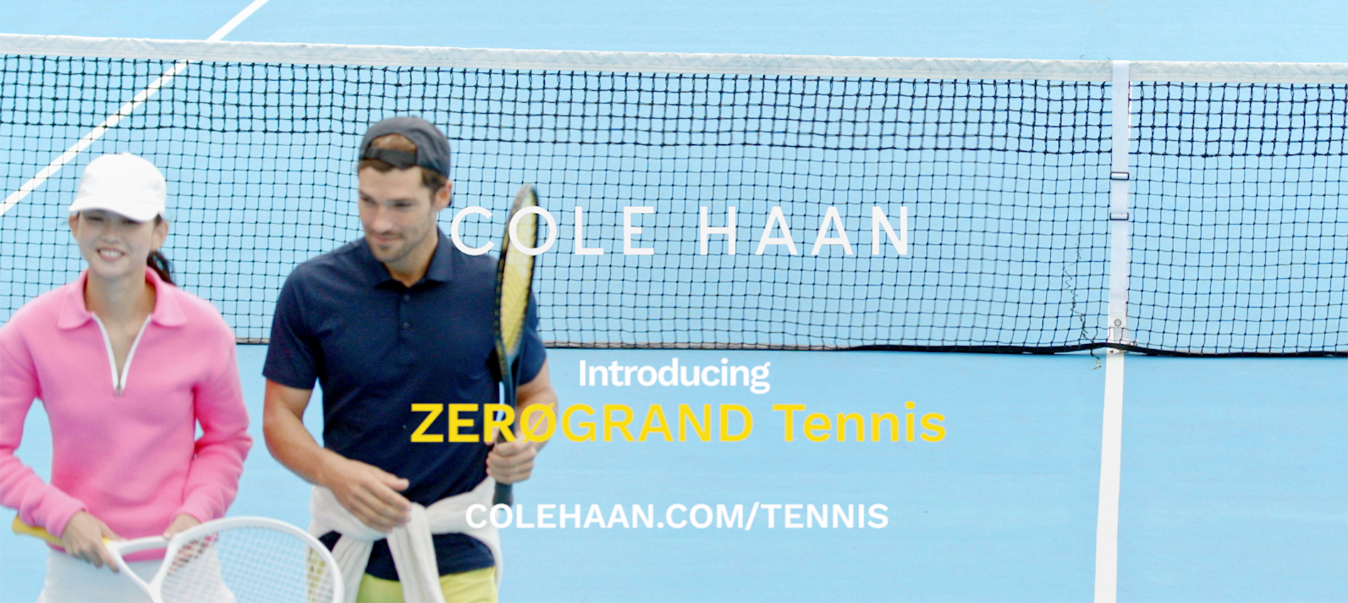 Cole Haan Introduces Performance Tennis...
