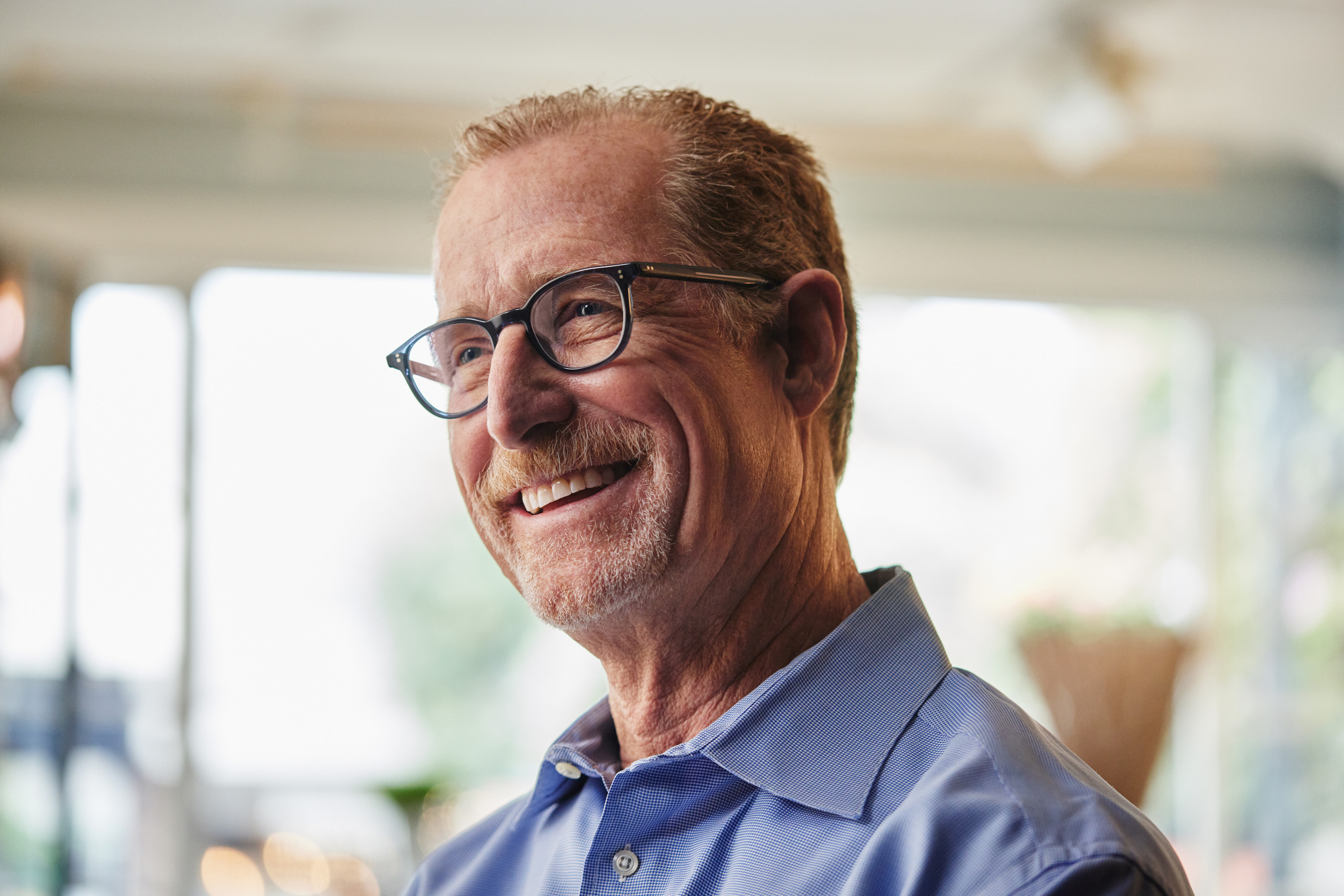 AOA Optometrist, Dr. Randy Griffin provides Caroline's ongoing eye health care