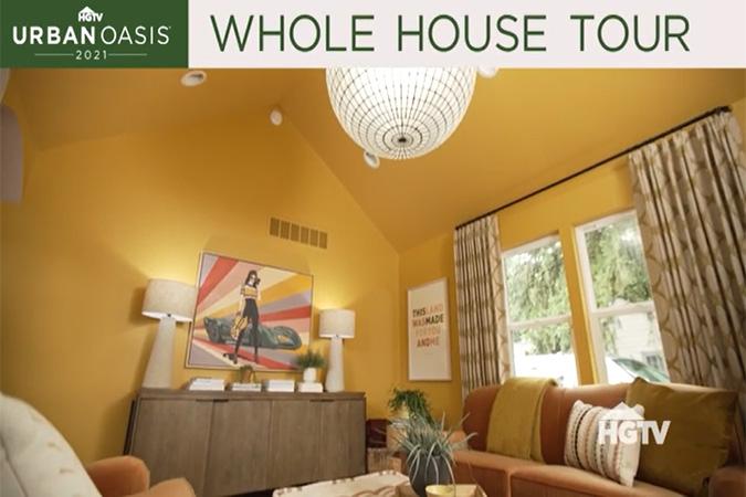 HGTV Urban Oasis 2021 Whole Home Tour