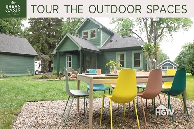 HGTV Urban Oasis 2021 Outdoor Spaces Tour