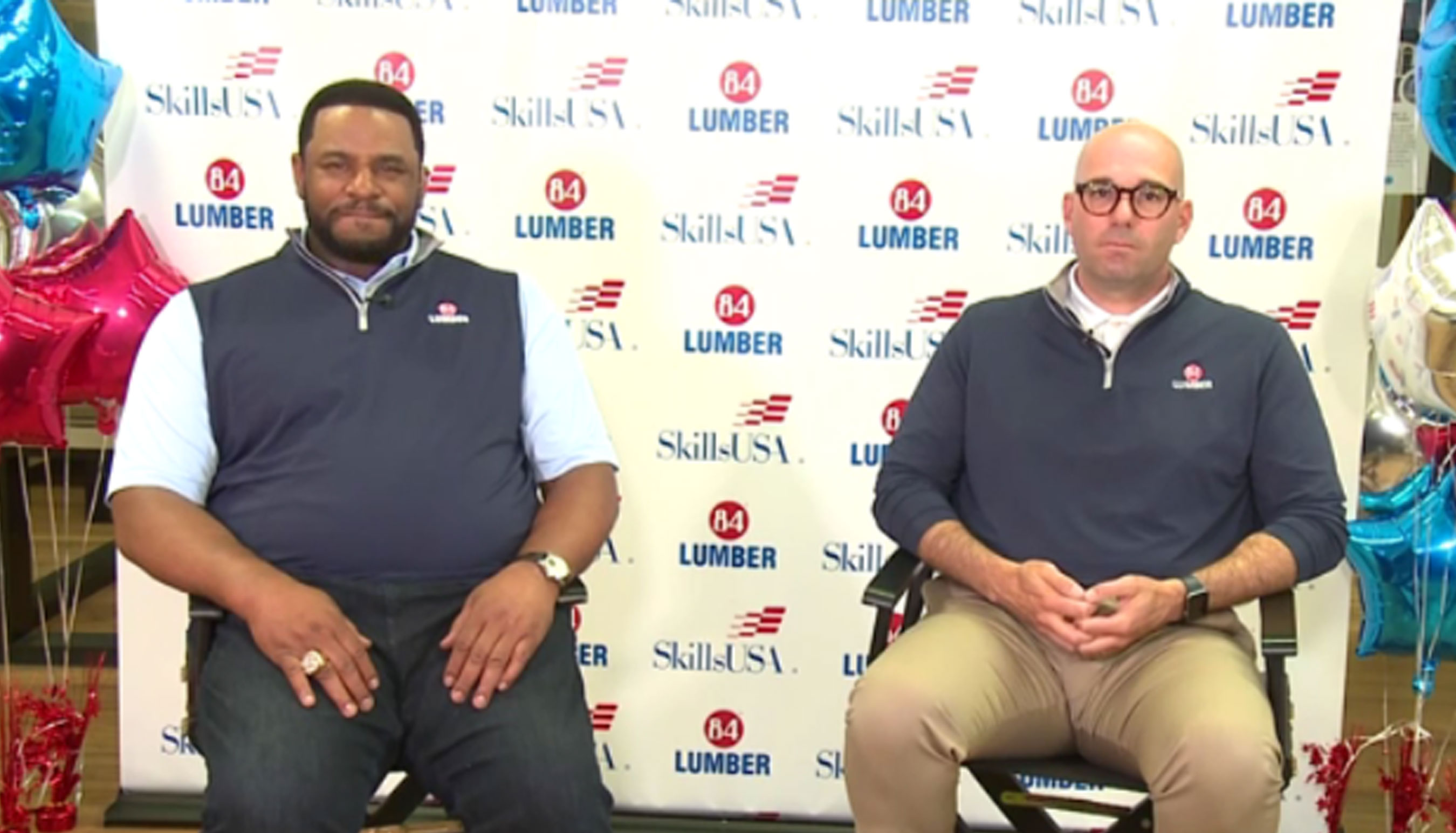 84 Lumber and NFL Great Jerome Bettis Recognize High School Seniors Committing to Skilled Trades during SkillsUSA National Signing Day