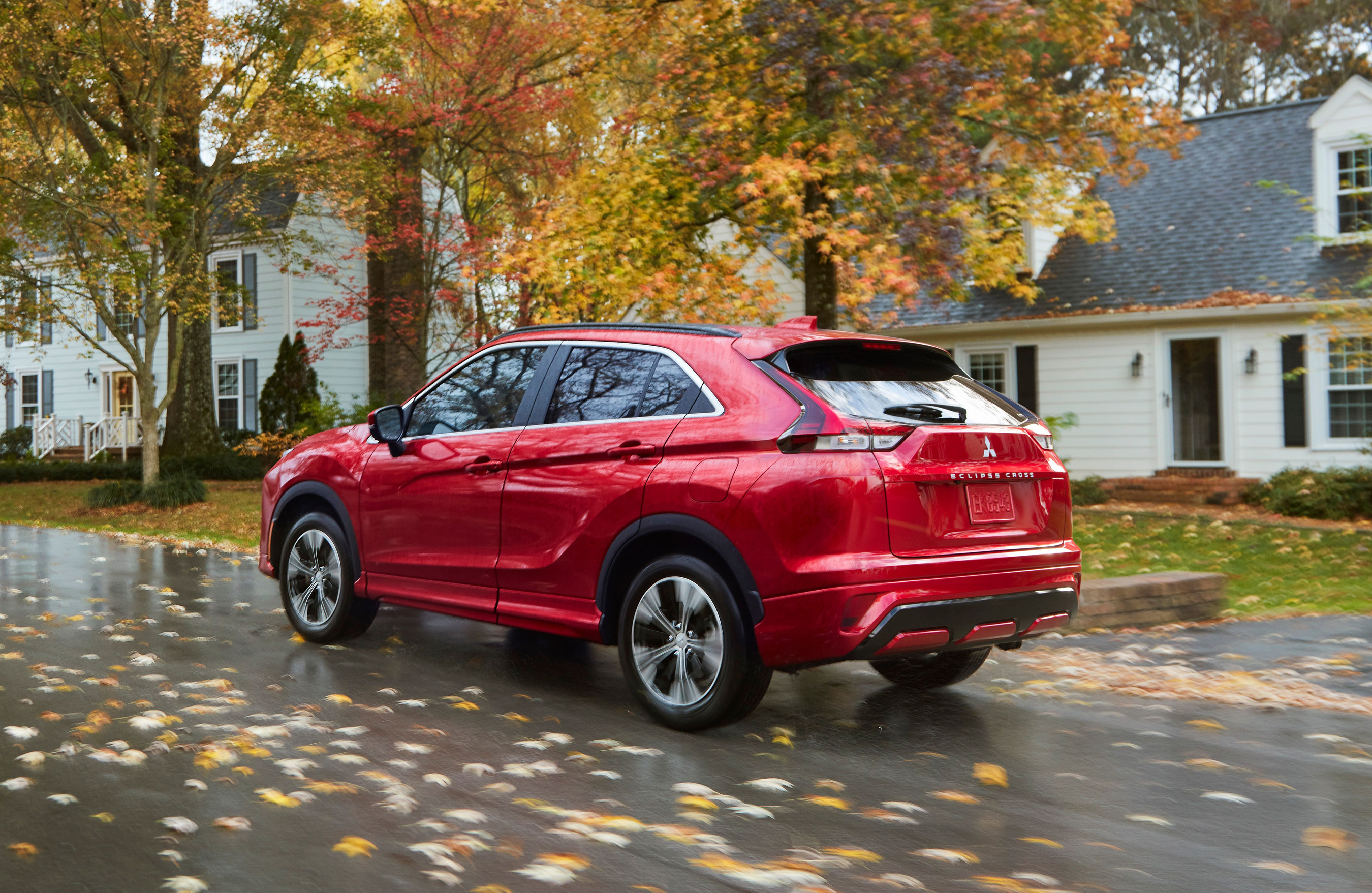 myQ® Connected Garage is now available in the 2022 Mitsubishi Eclipse Cross and in select 2018 and newer Mitsubishi Eclipse Cross Vehicles.