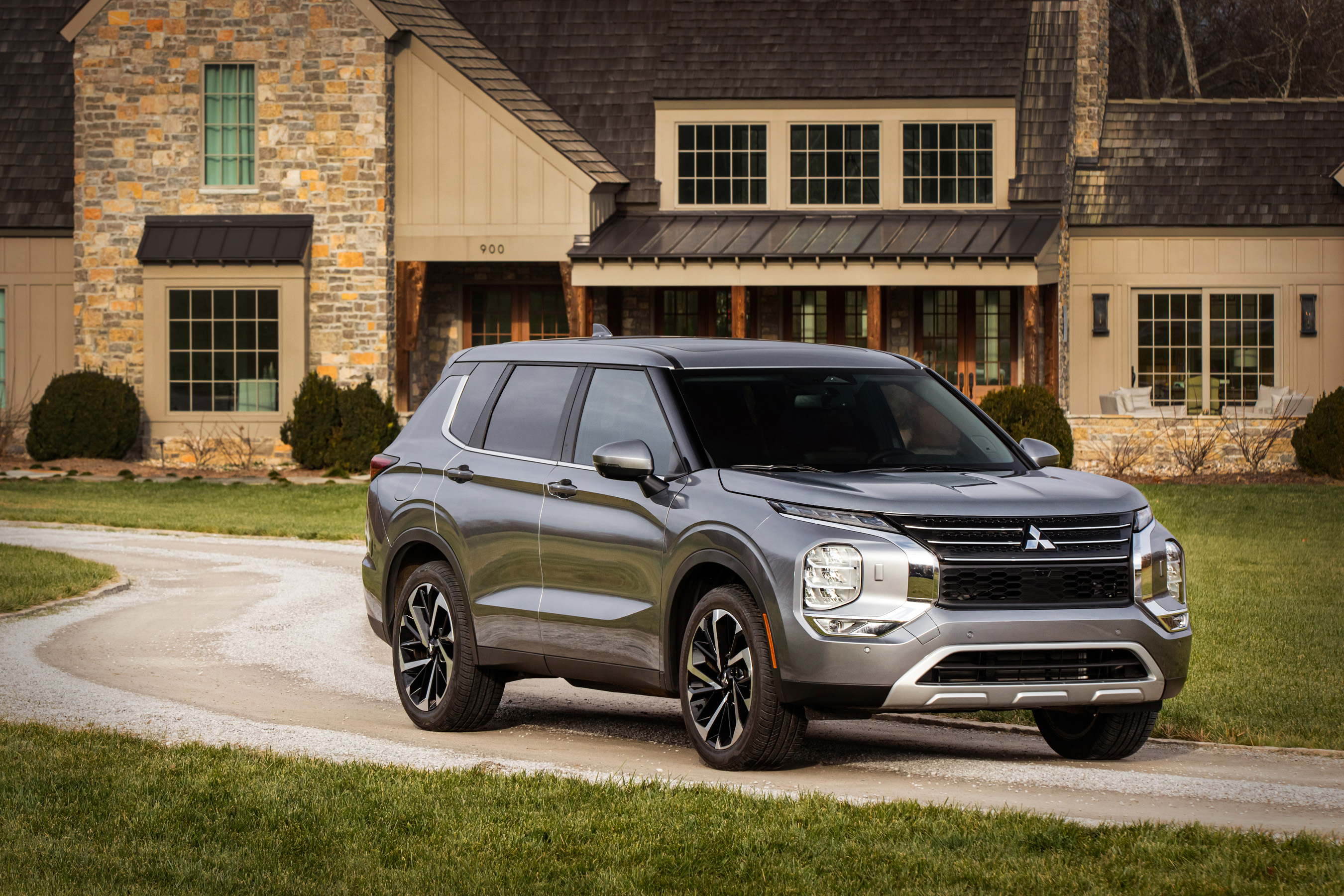 myQ Connected Garage is available in the all-new 2022 Mitsubishi Outlander.