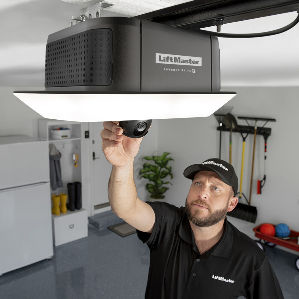 Remote diagnostic capabilities keep track of the garage door openers' health and ensure for quick and easy service repairs when needed.