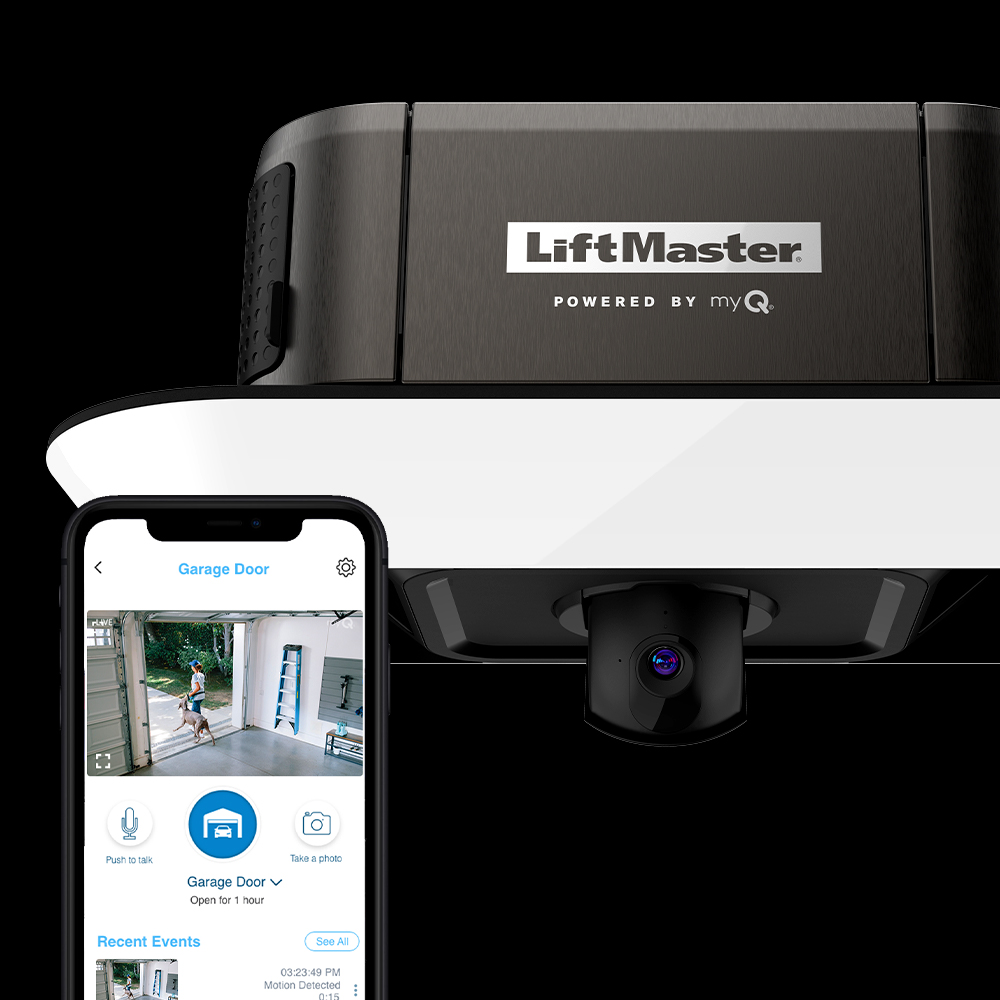 LiftMaster has launched a new line of modernized smart openers equipped with integrated LED lighting, a built-in camera, battery backup and powerful myQ technology.