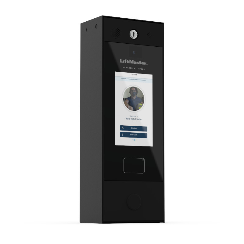 The Smart Video Intercom – M allows property managers and residents to open doors and manage guest access remotely and provides the ability to see and talk to visitors through a live video feed.