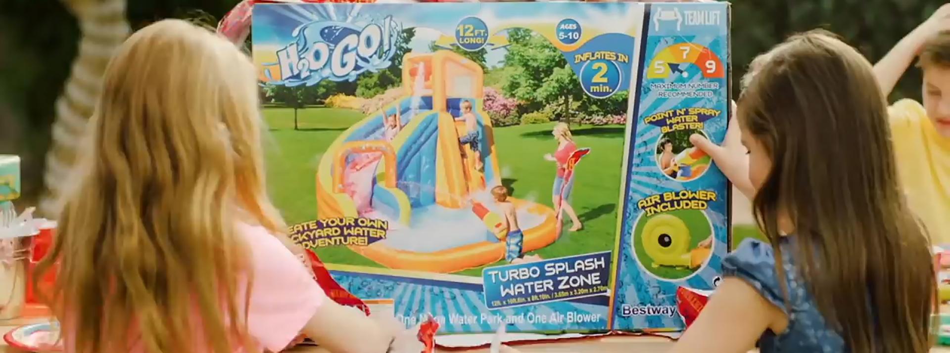 H2OGO!® Mega Inflatable Water Parks are Back for Summer, Built...