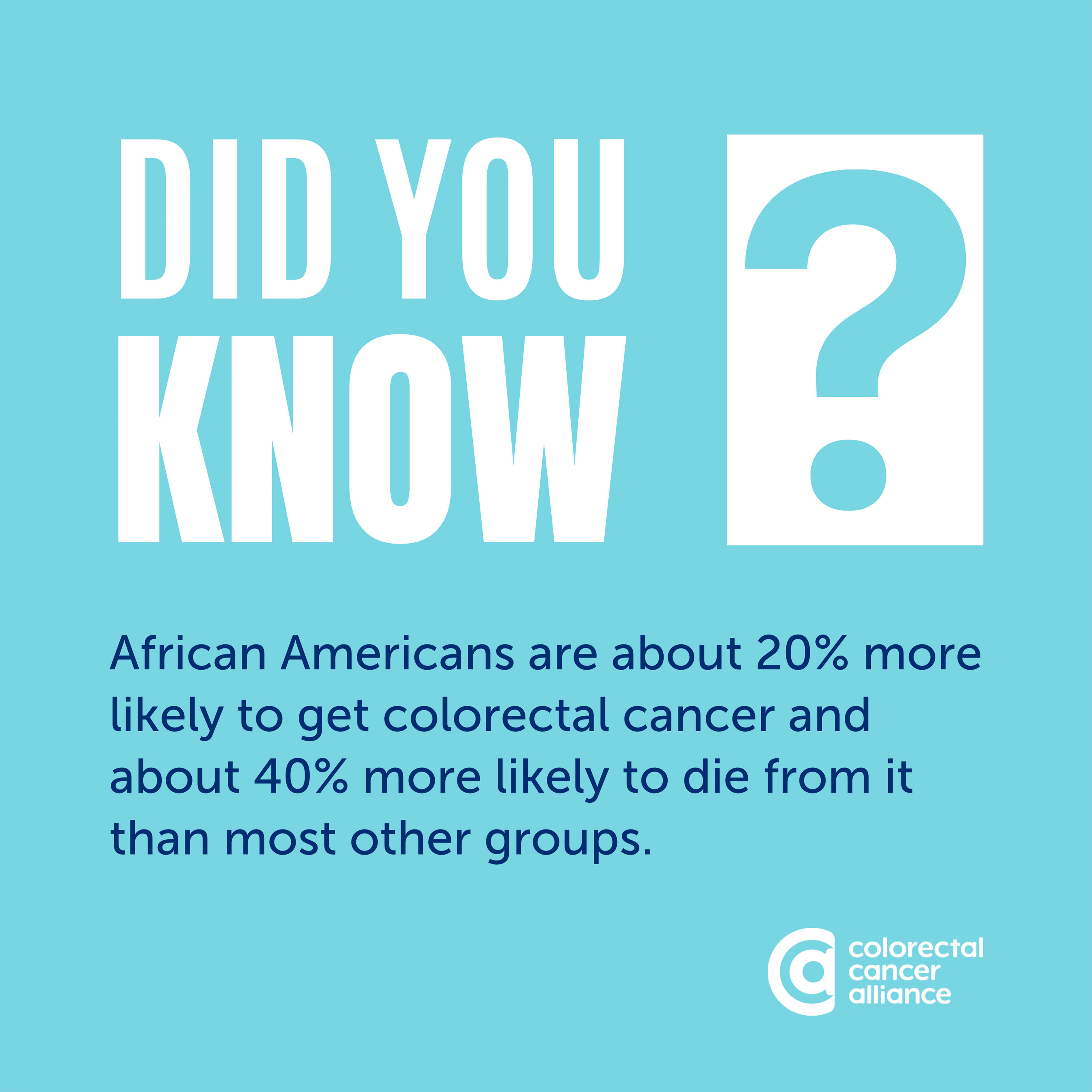 Colorectal cancer and the impact and disparities among African Americans