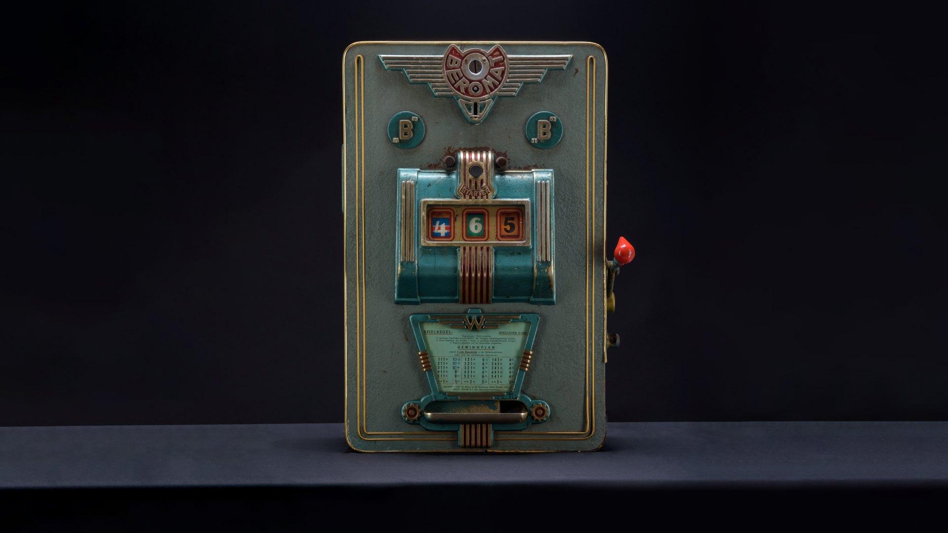 """Image of Beromat """"B"""" Mechanical Slot Machine"""